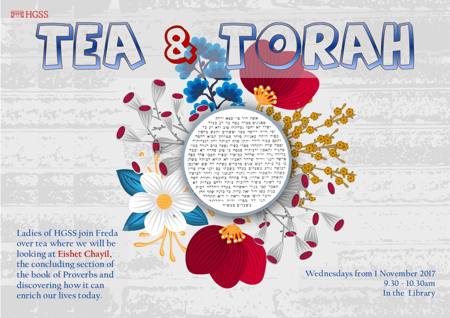 Tea & Torah