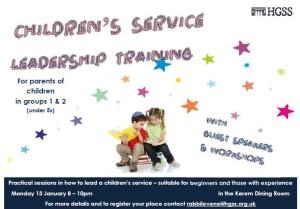 CHILDREN SERVICE TRAINING