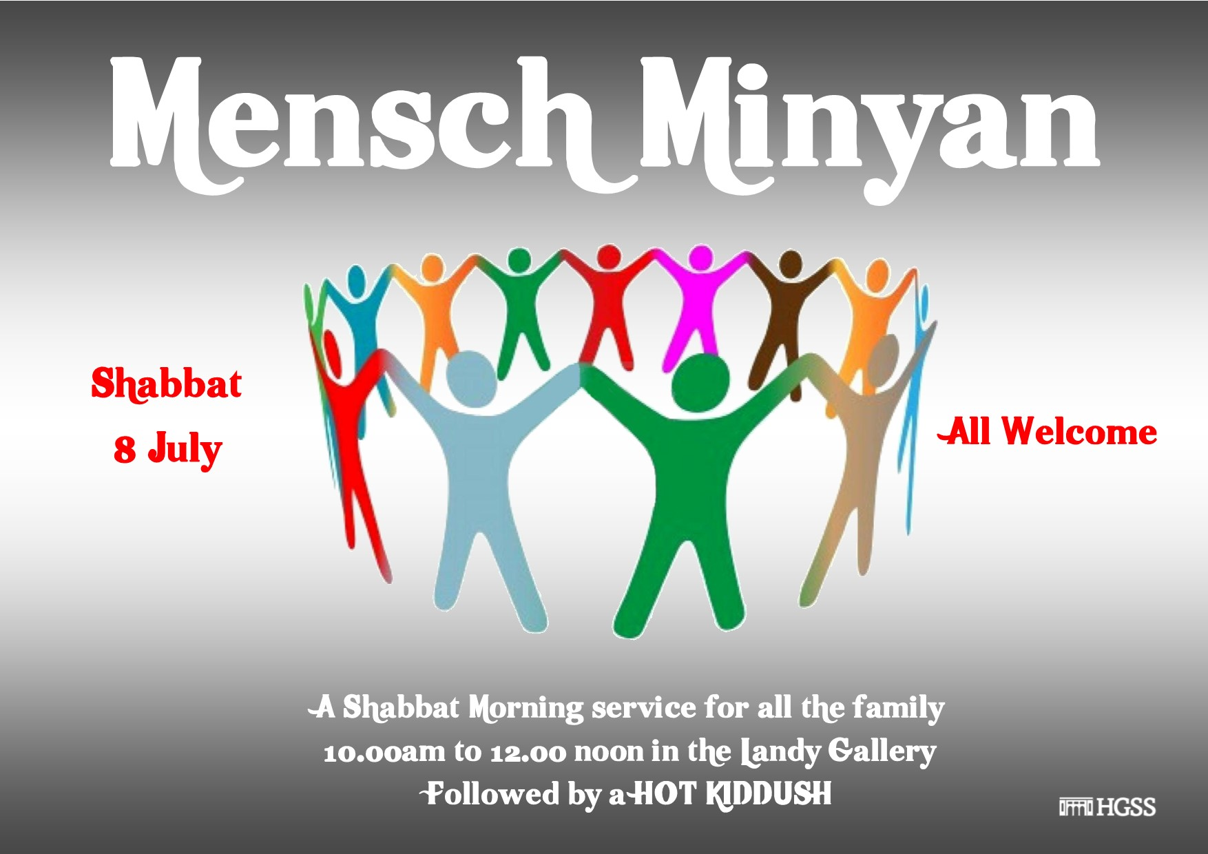 Mensch Minyan @ The Landy Gallery