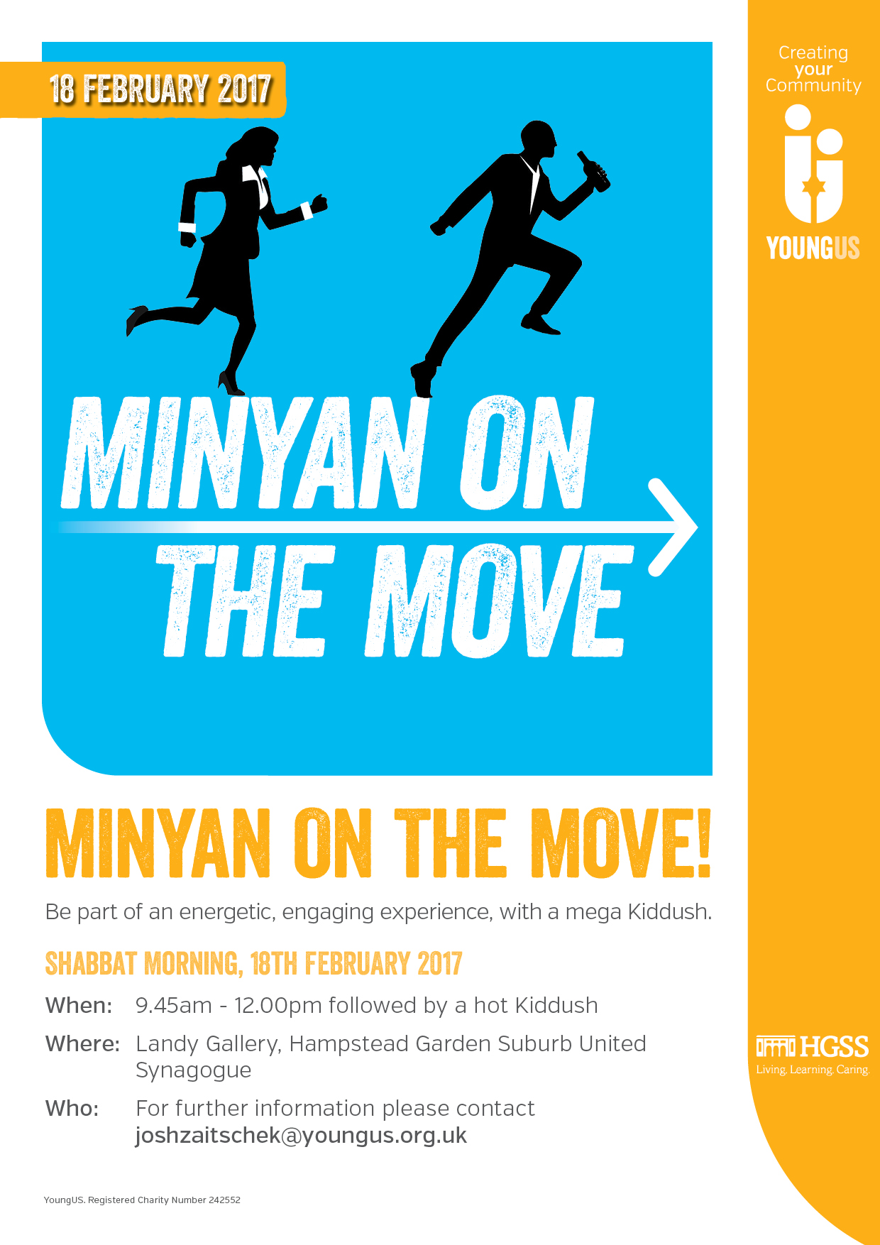 Minyan on the Move @ The Landy Gallery