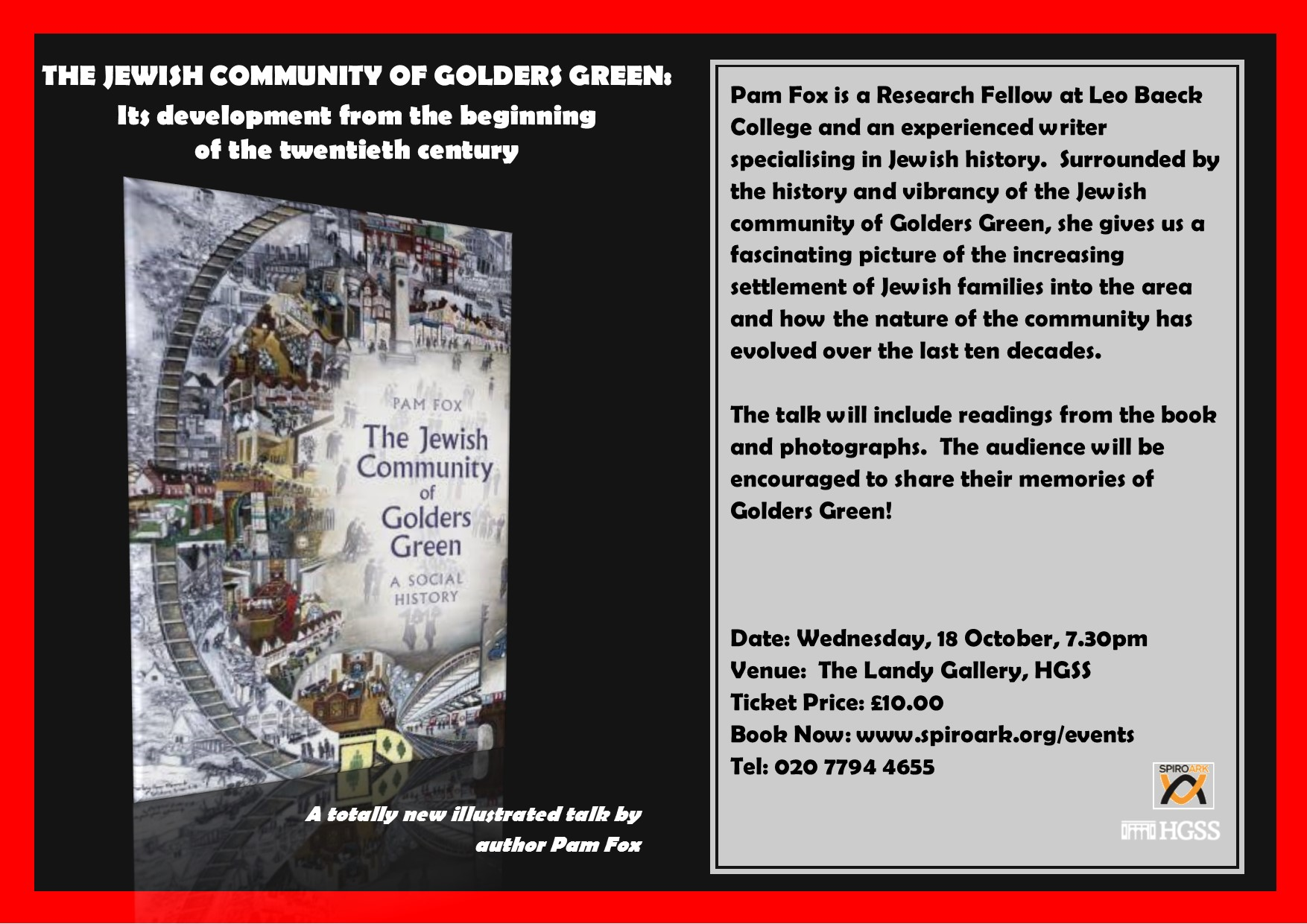 Spiro Ark – The Jewish Community of Golders Green @ The Landy Gallery