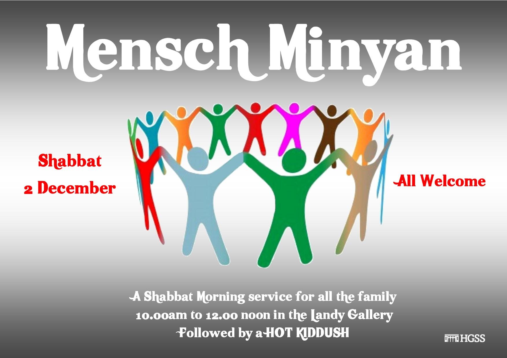 Mensch Minyan @ The Landy Gallery