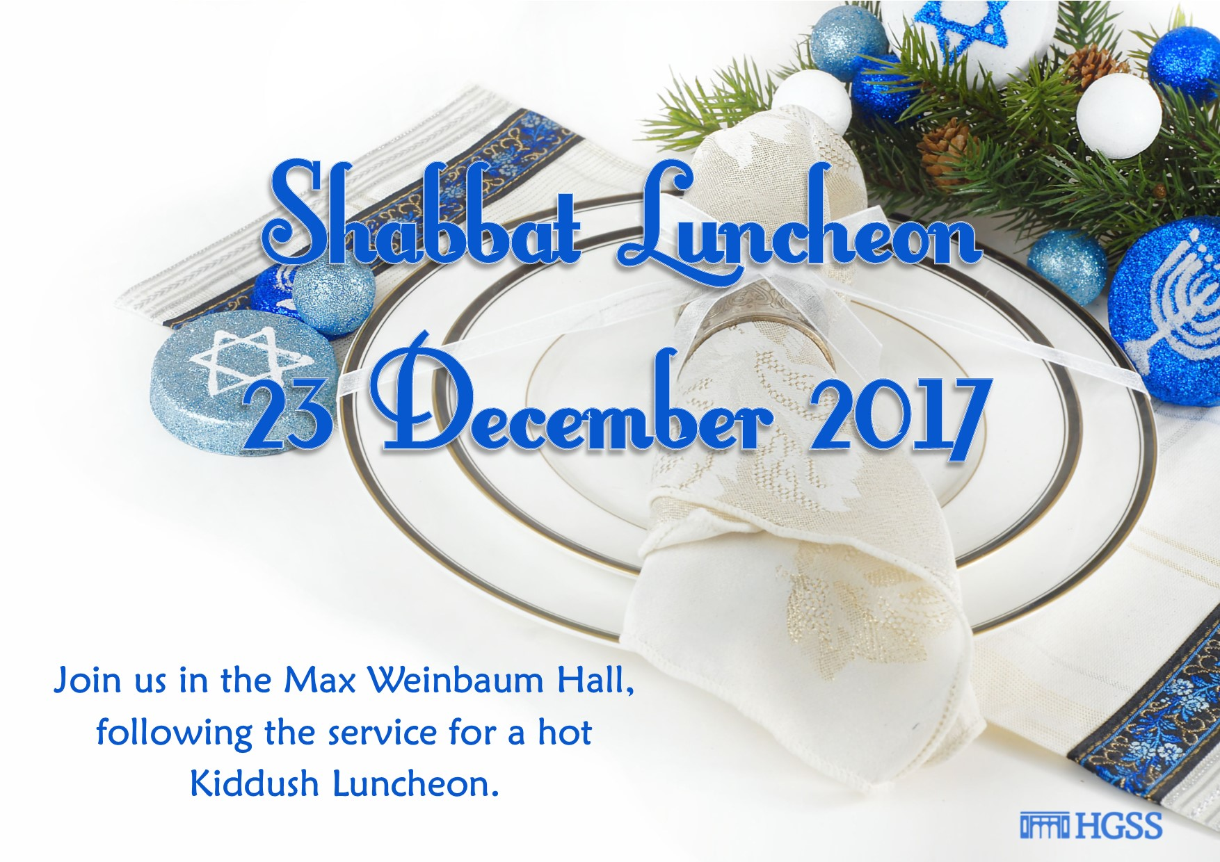 Communal Lunch @ Max Weinbaum Hall