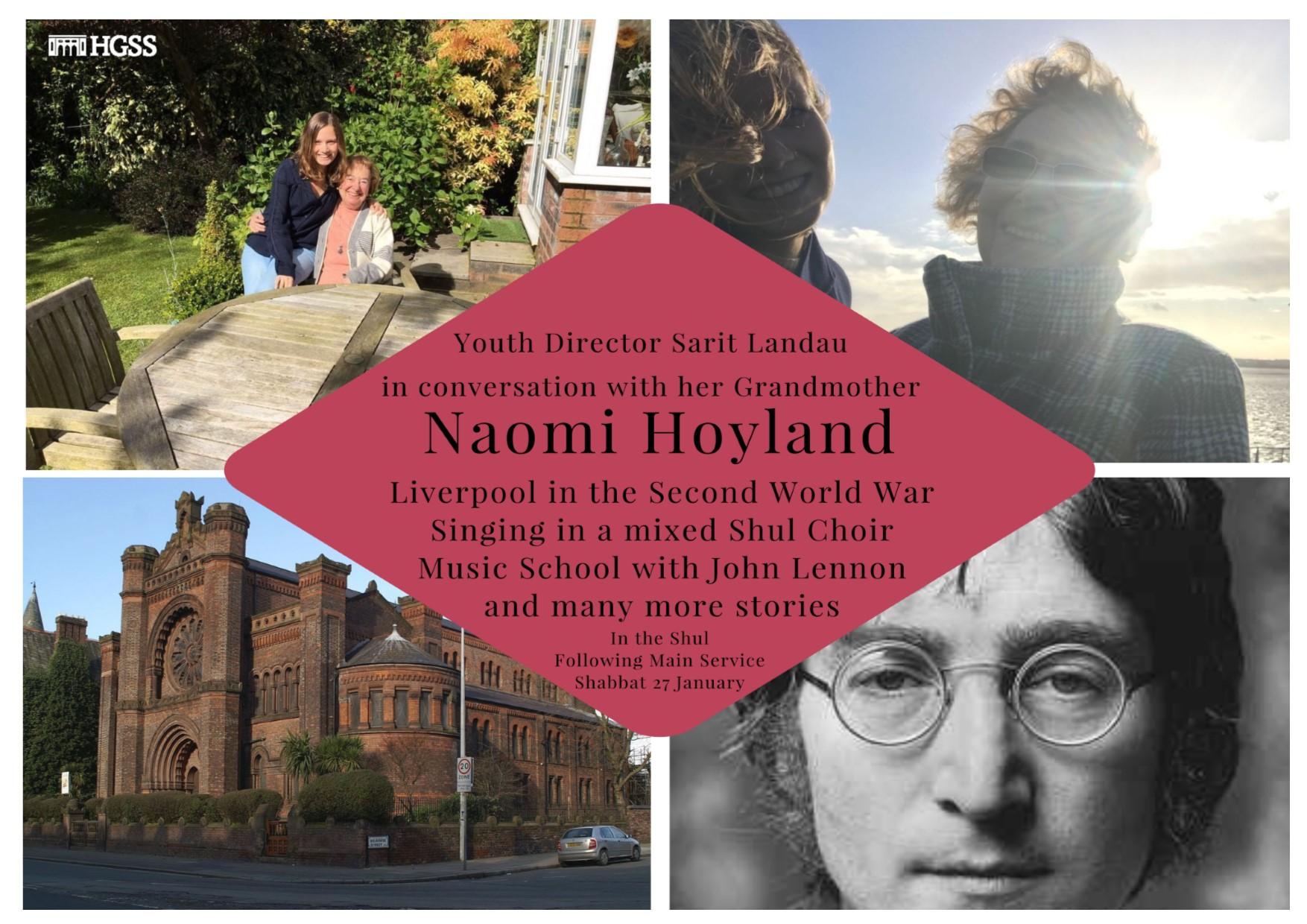 Naomi Hoyland @ The Hall