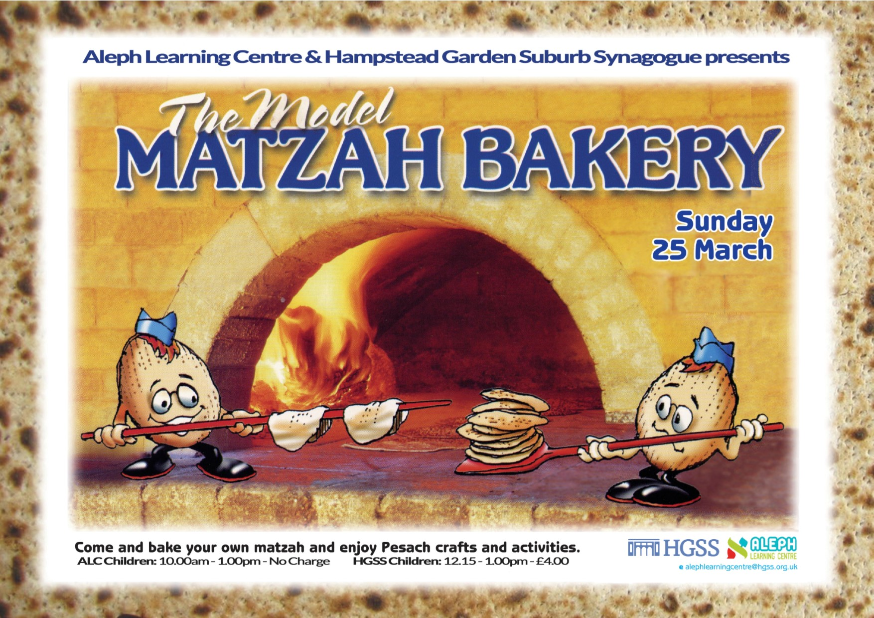 Matzah Bake @ Max Weinbaum Hall | Holmer Green | England | United Kingdom