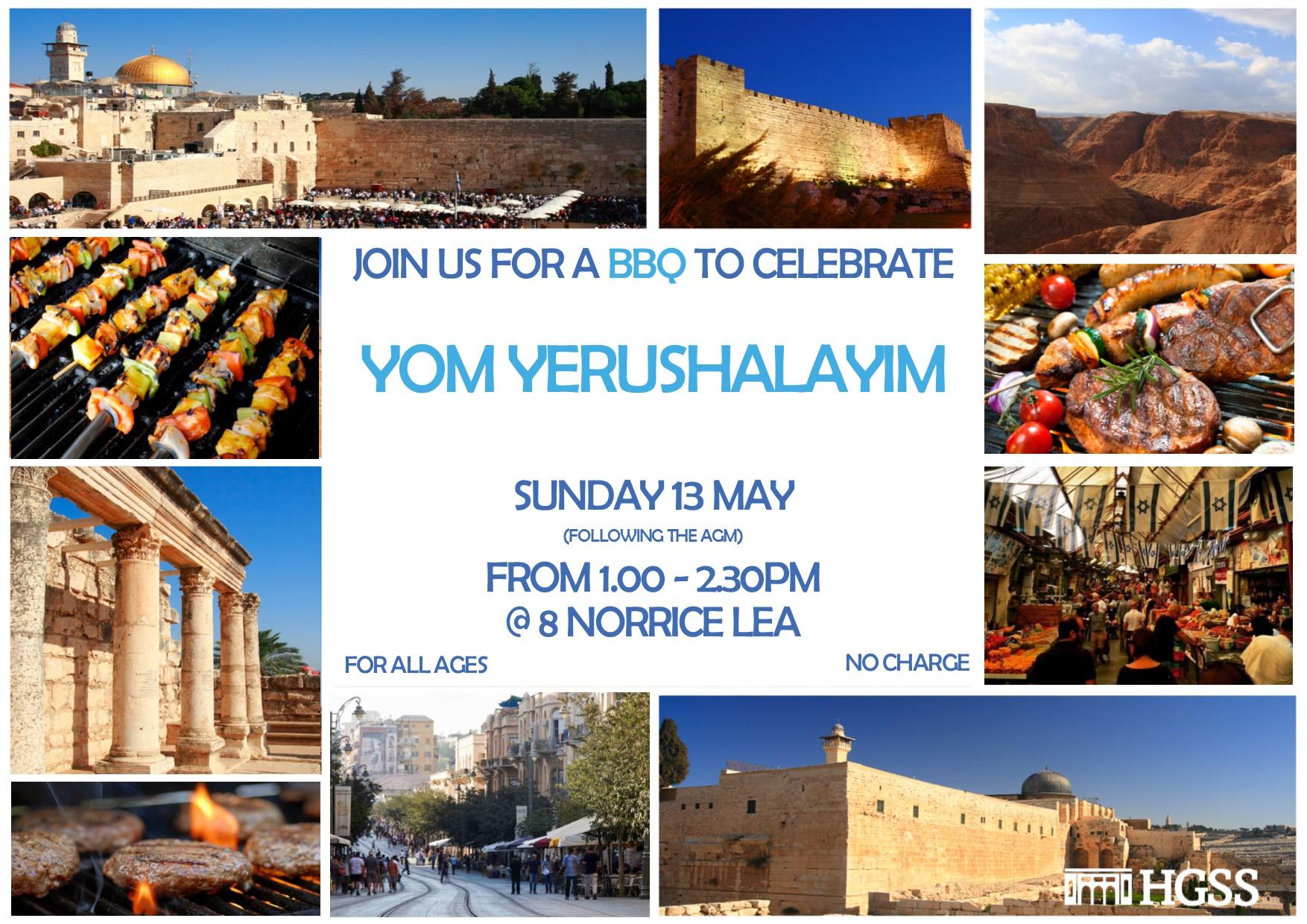 Yom Yerushalayim @ HGSS @ HGSS