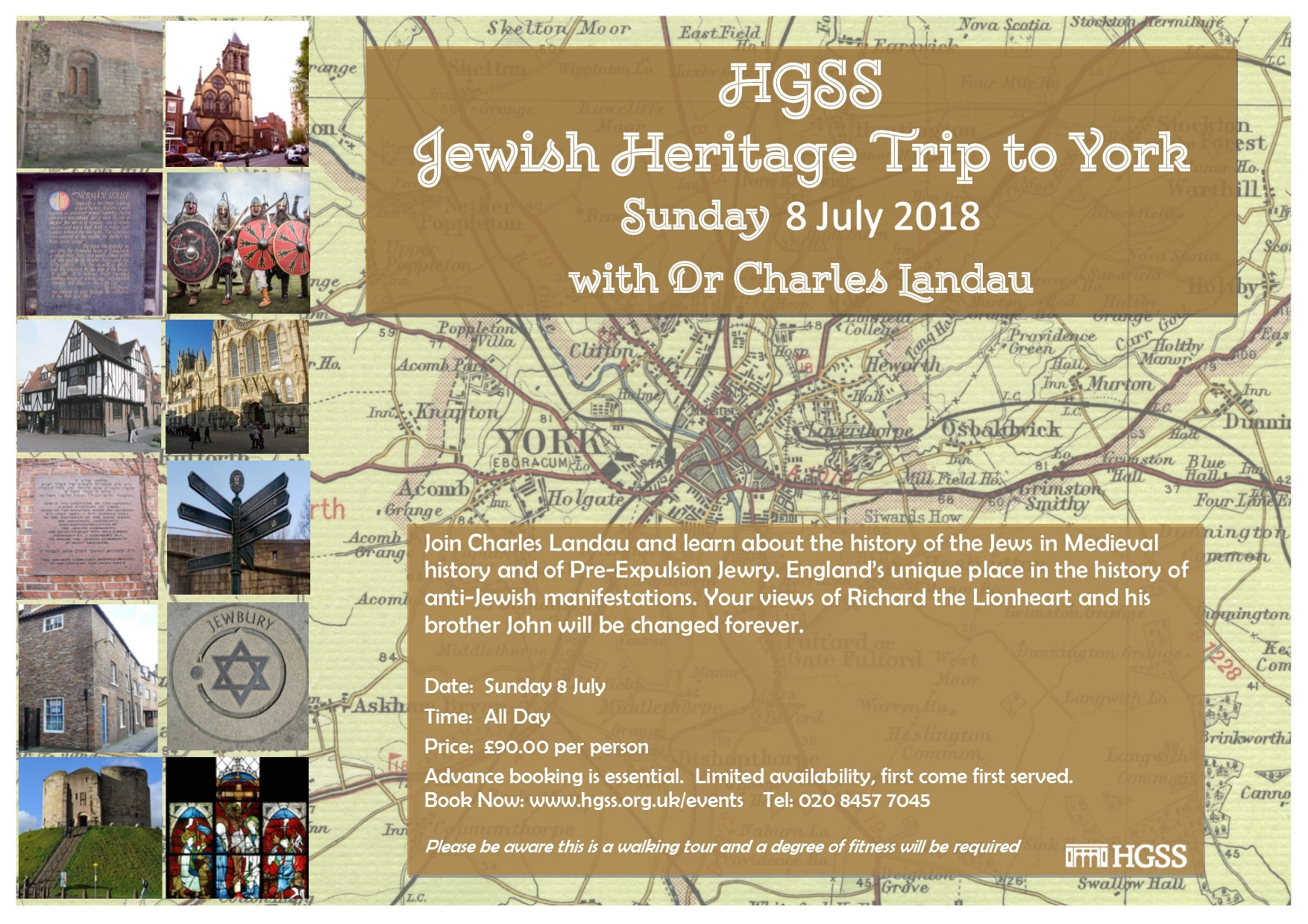 Day Trip Jewish York @ York