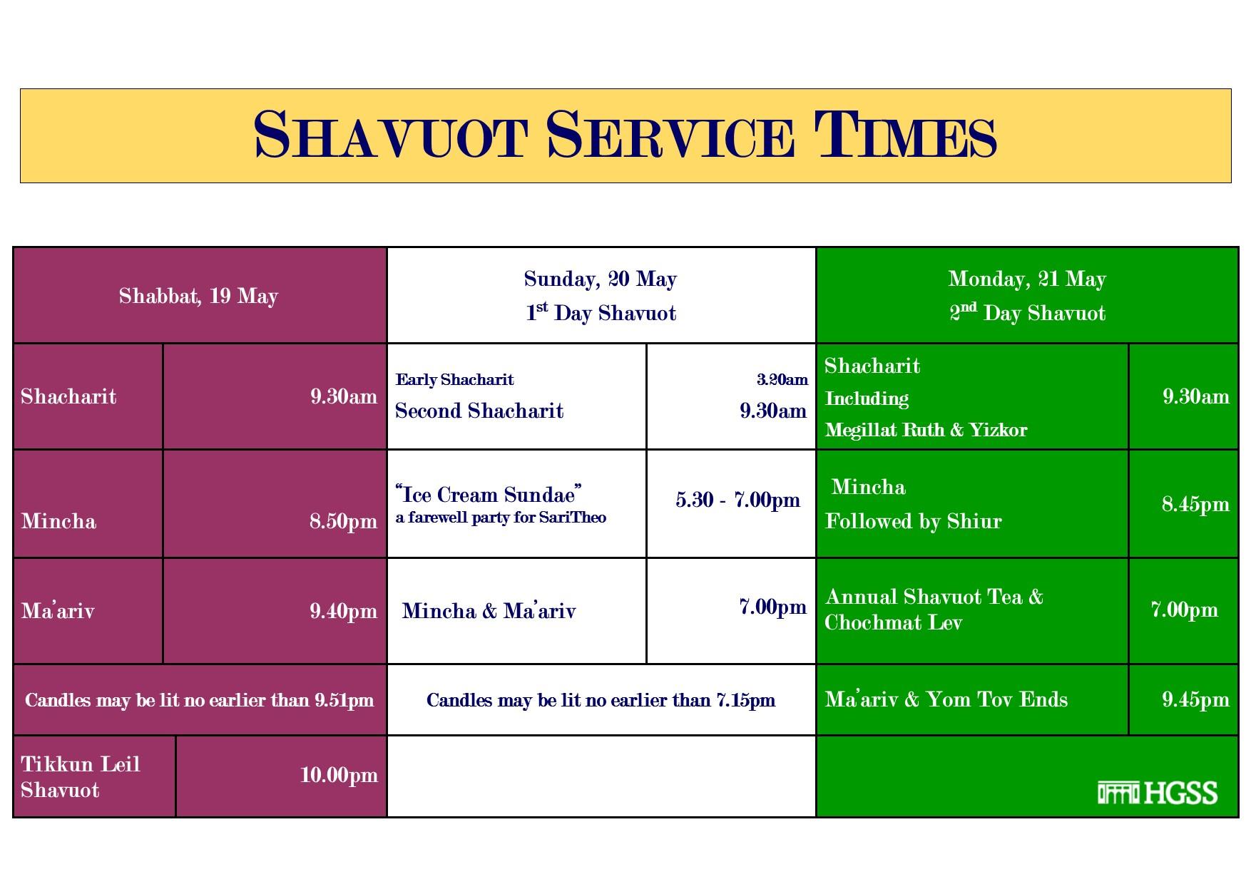 Shavuot 2 @ Jewish Holidays