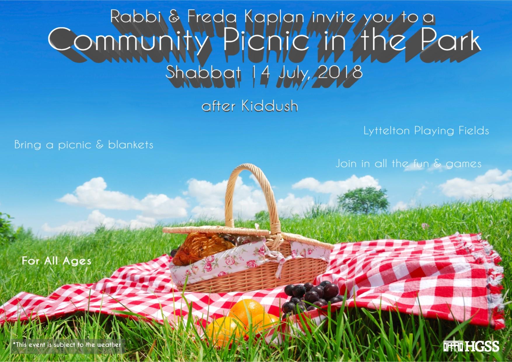 Summer Community Picnic @ Lyttelton Park