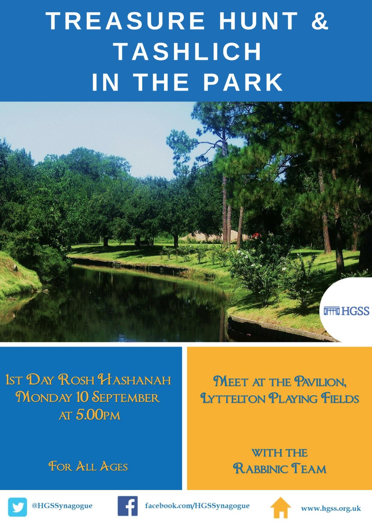 Tashlich in the Park @ Meet at the Pavilion | London | England | United Kingdom