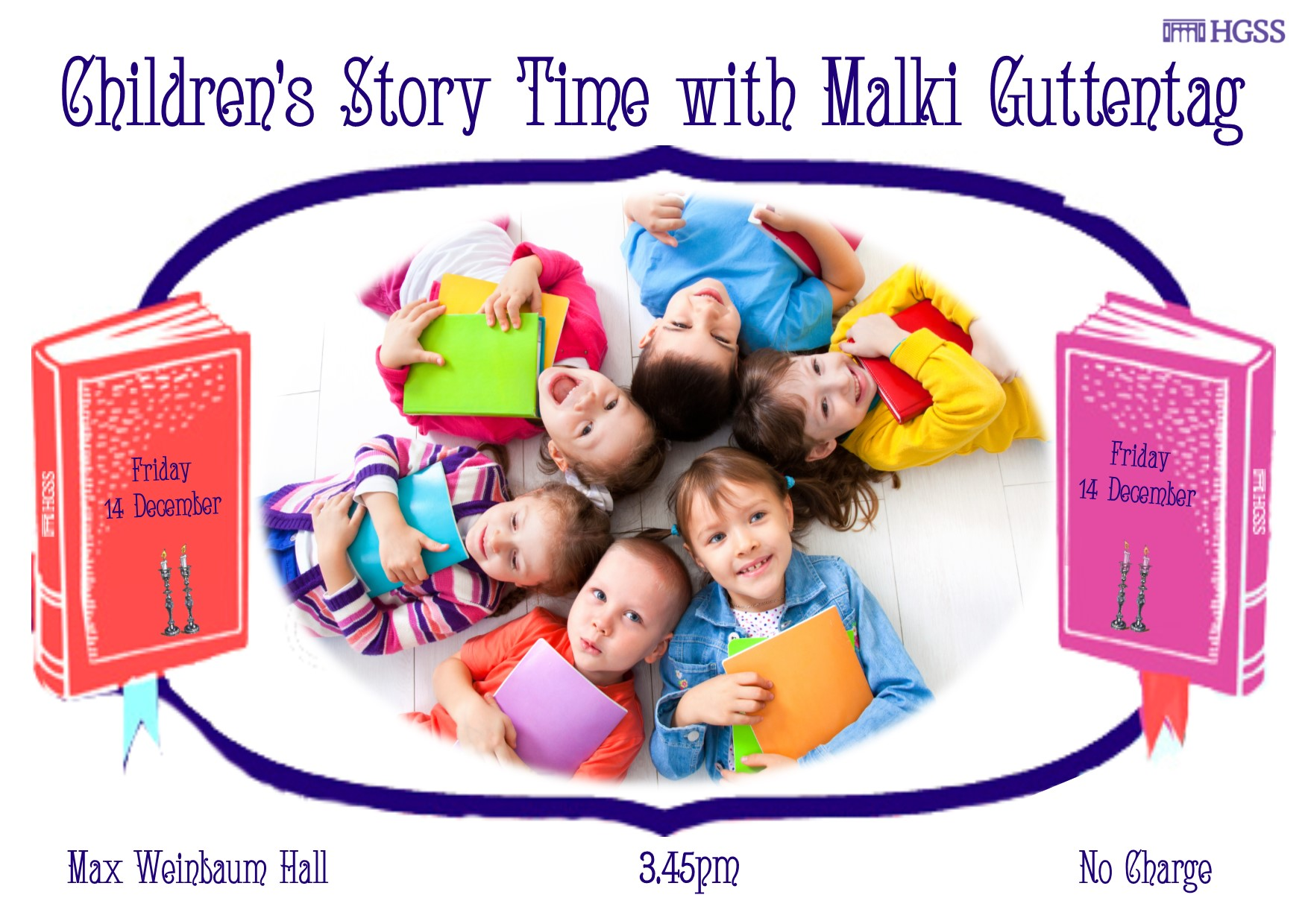 Children's Story Time @ Max Weinbaum Hall