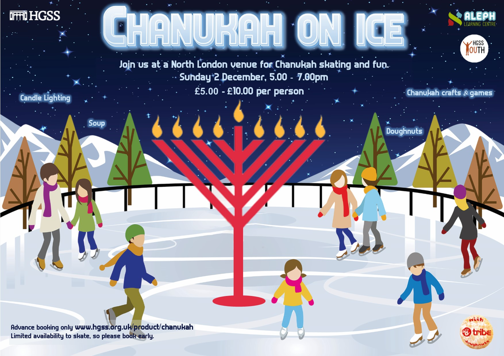 Chanukah on Ice @ North London