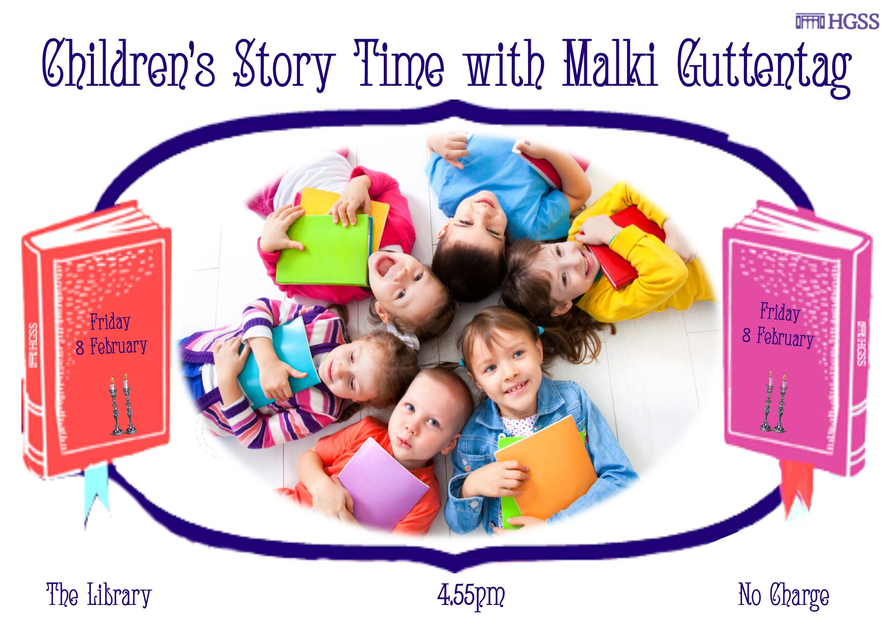 Children's Story Time @ The Library, HGSS