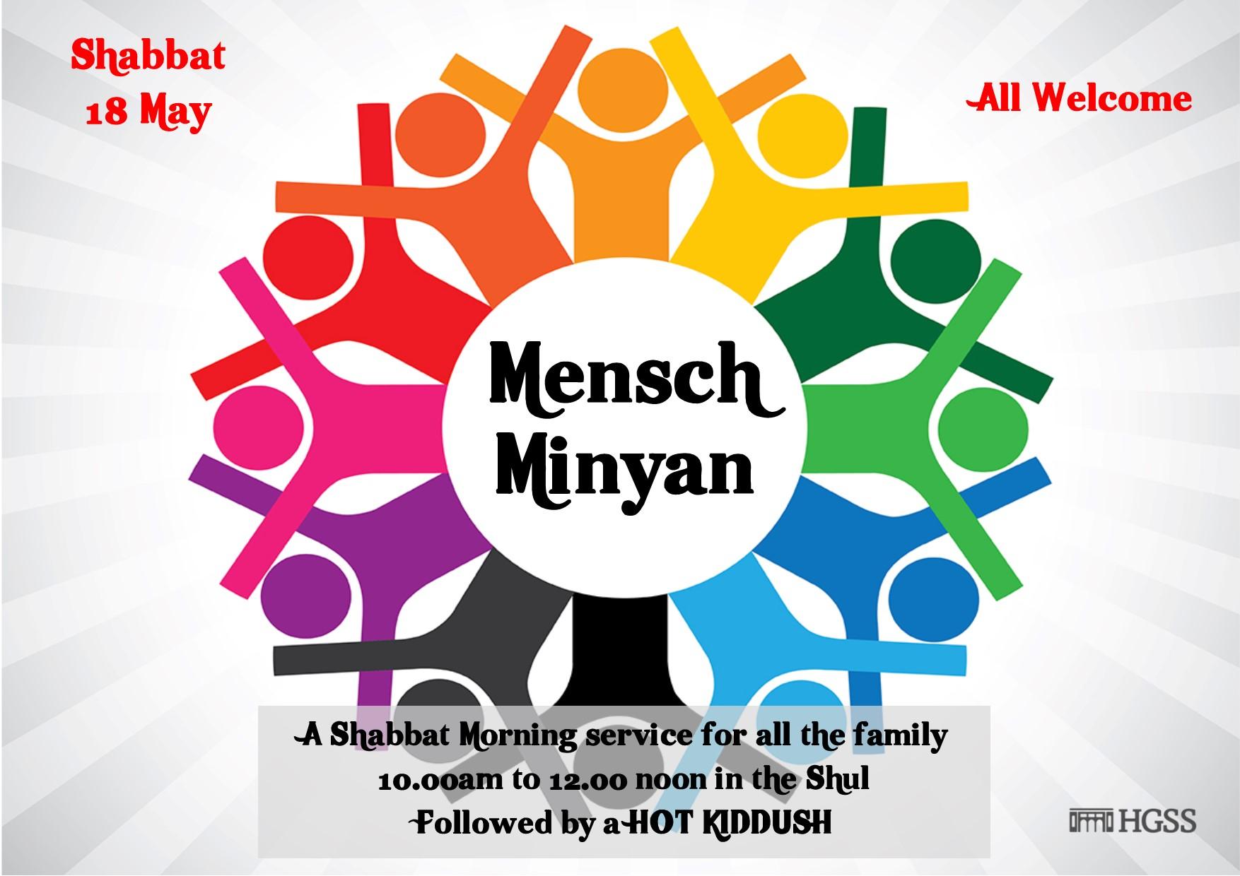 Mensch Minyan @ The Shul