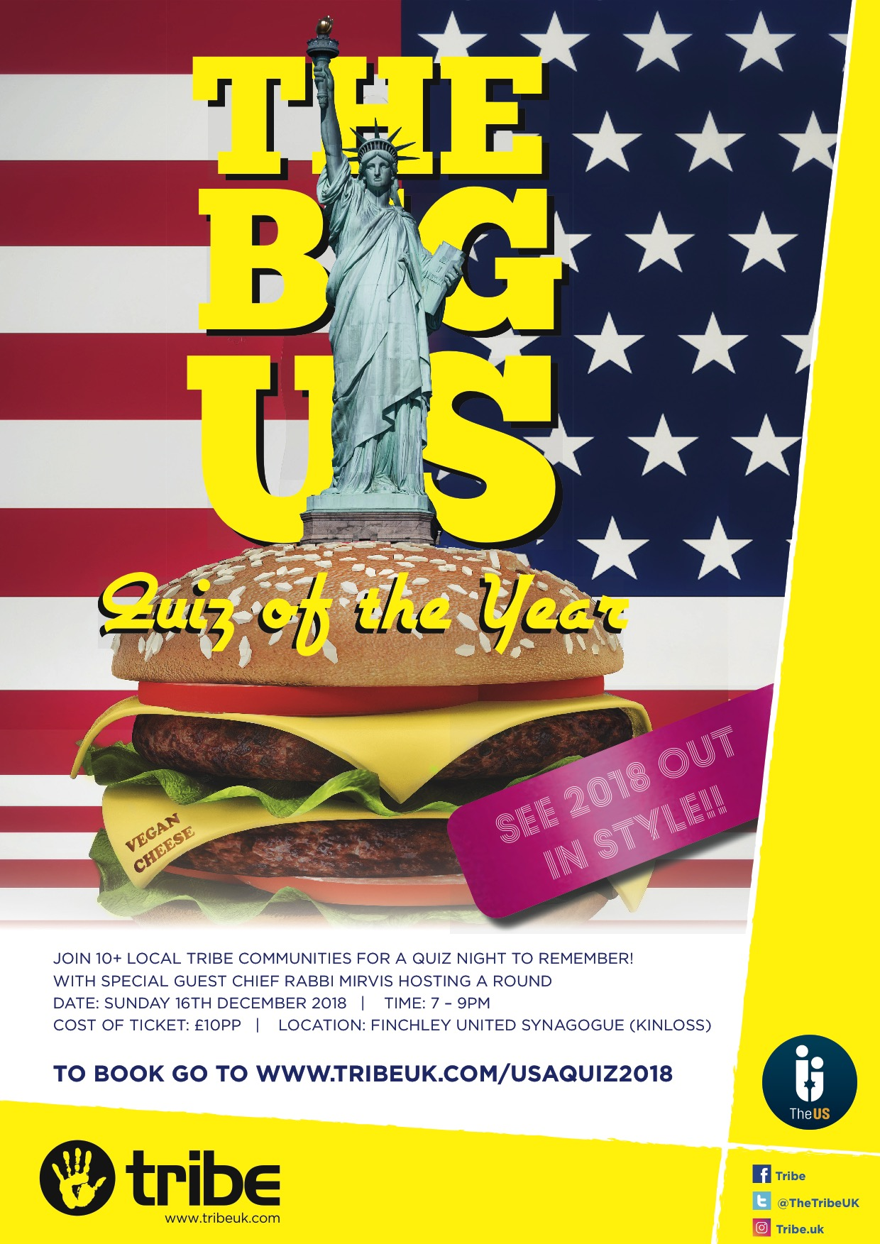 The Big US Quiz of the Year @ Kinloss