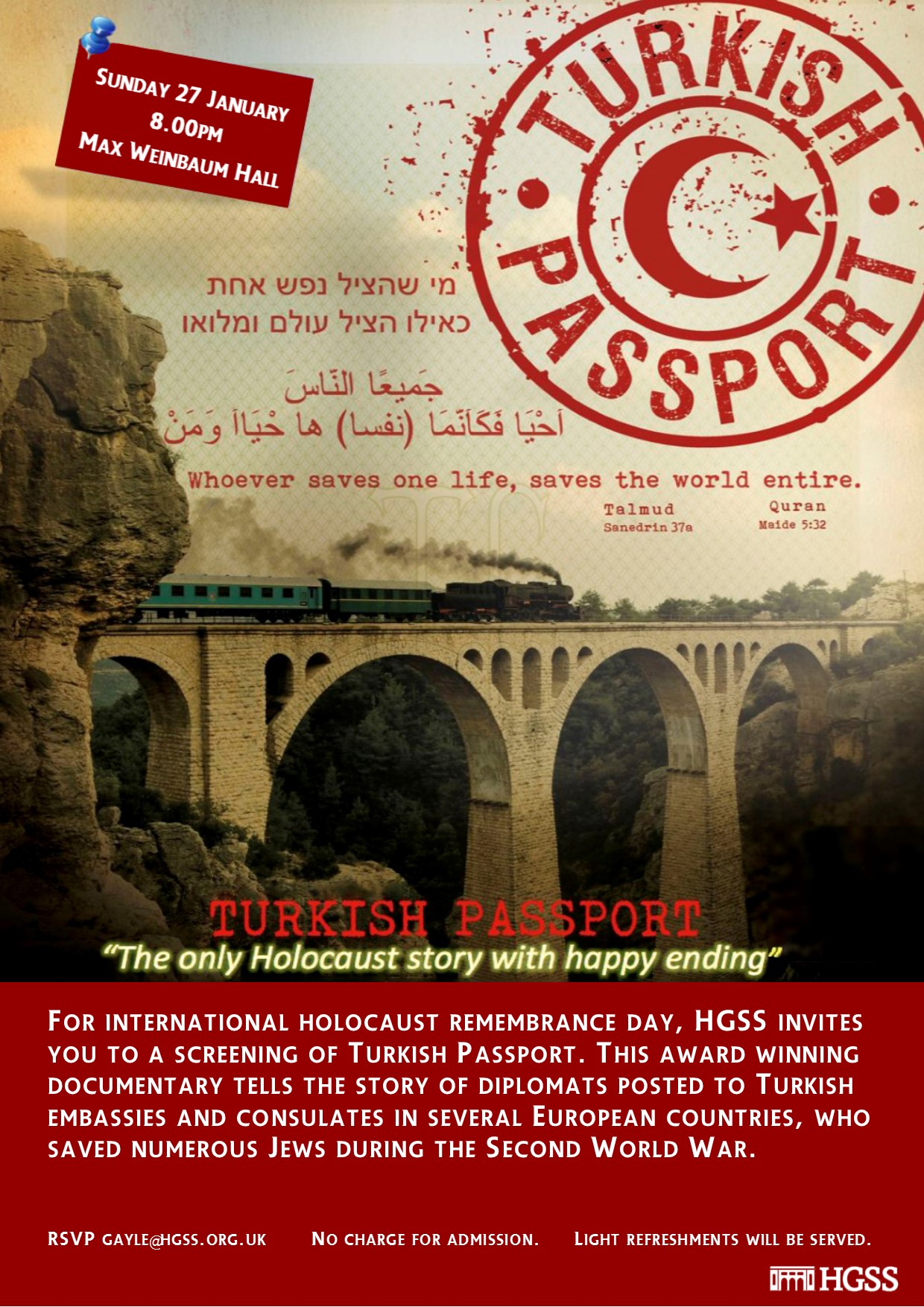 Turkish Passport @ HGSS