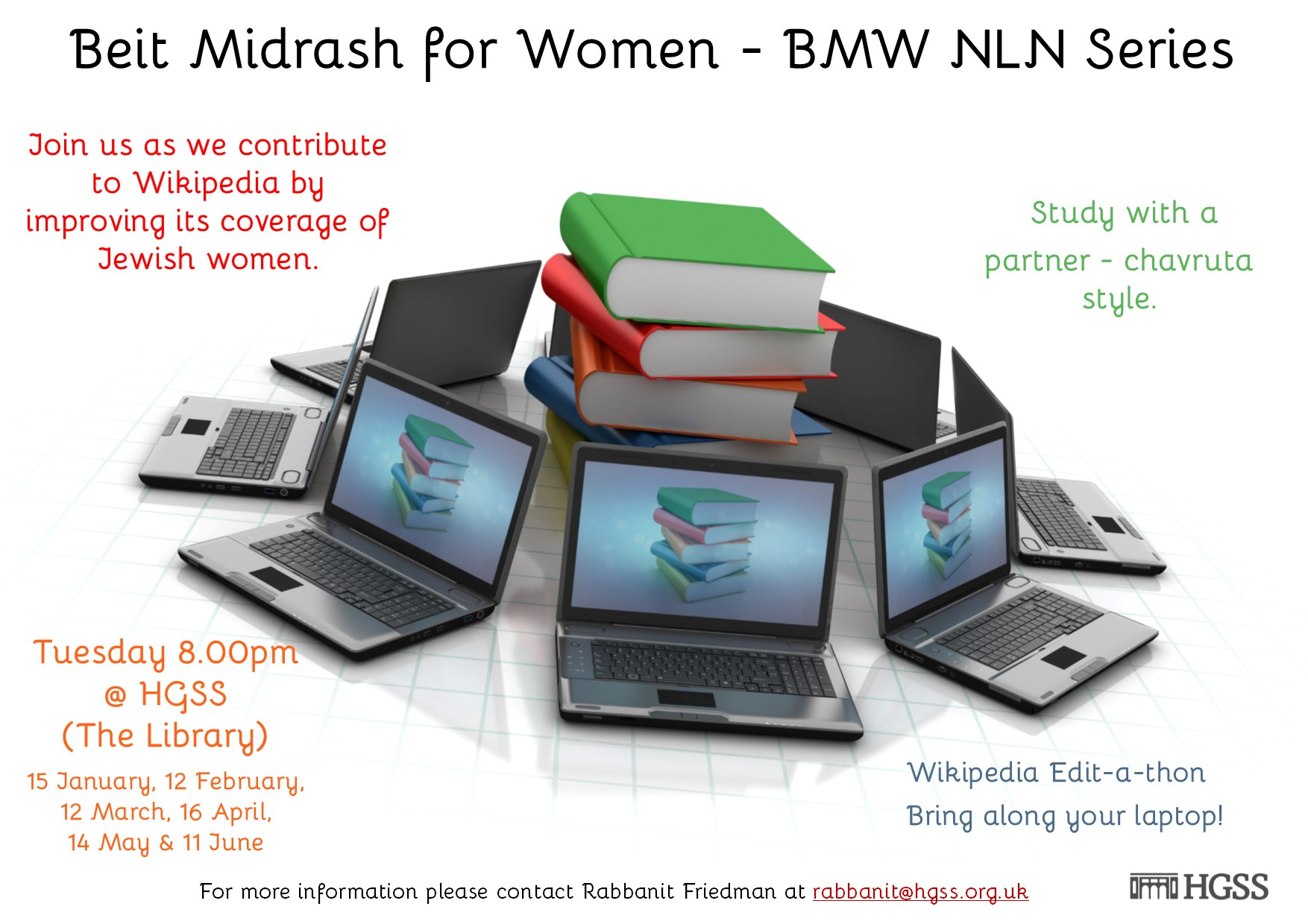 Beit Midrash for Women @ The Library, HGSS
