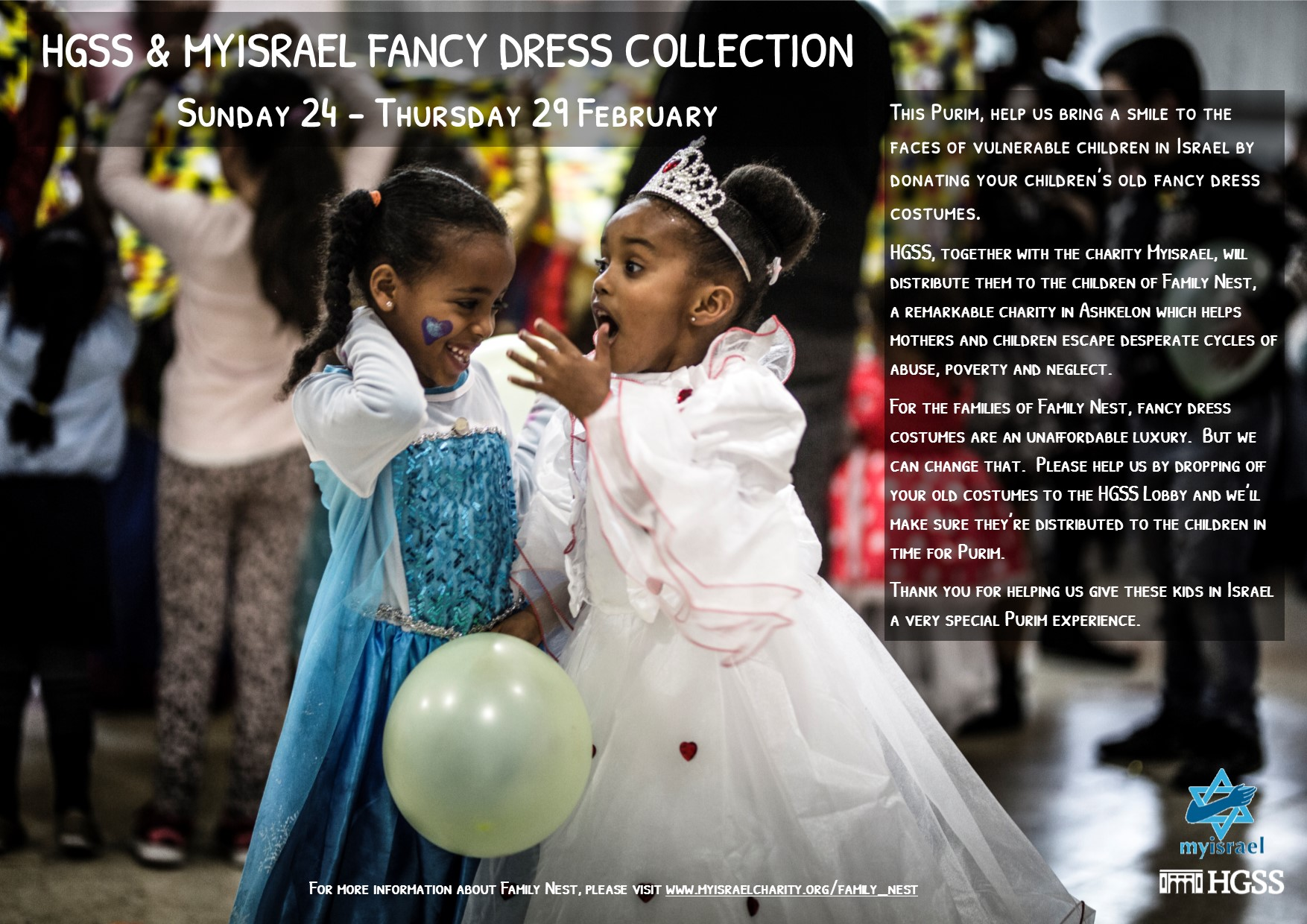 Purim Fancy Dress Collection @ Lobby, HGSS