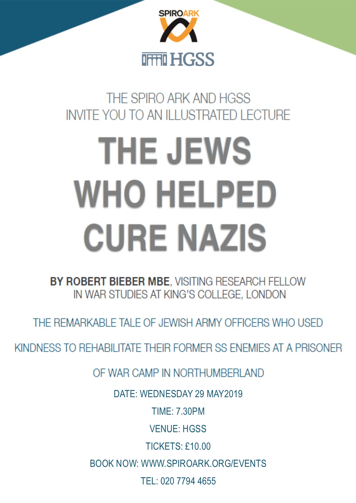 Spiro Ark - The Jews who helped cure Nazis @ The Landy Gallery