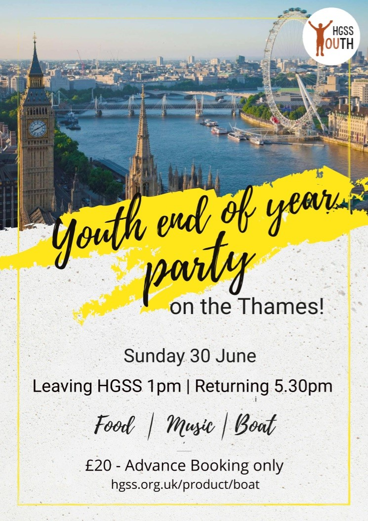 Youth End of Year Party @ Thames
