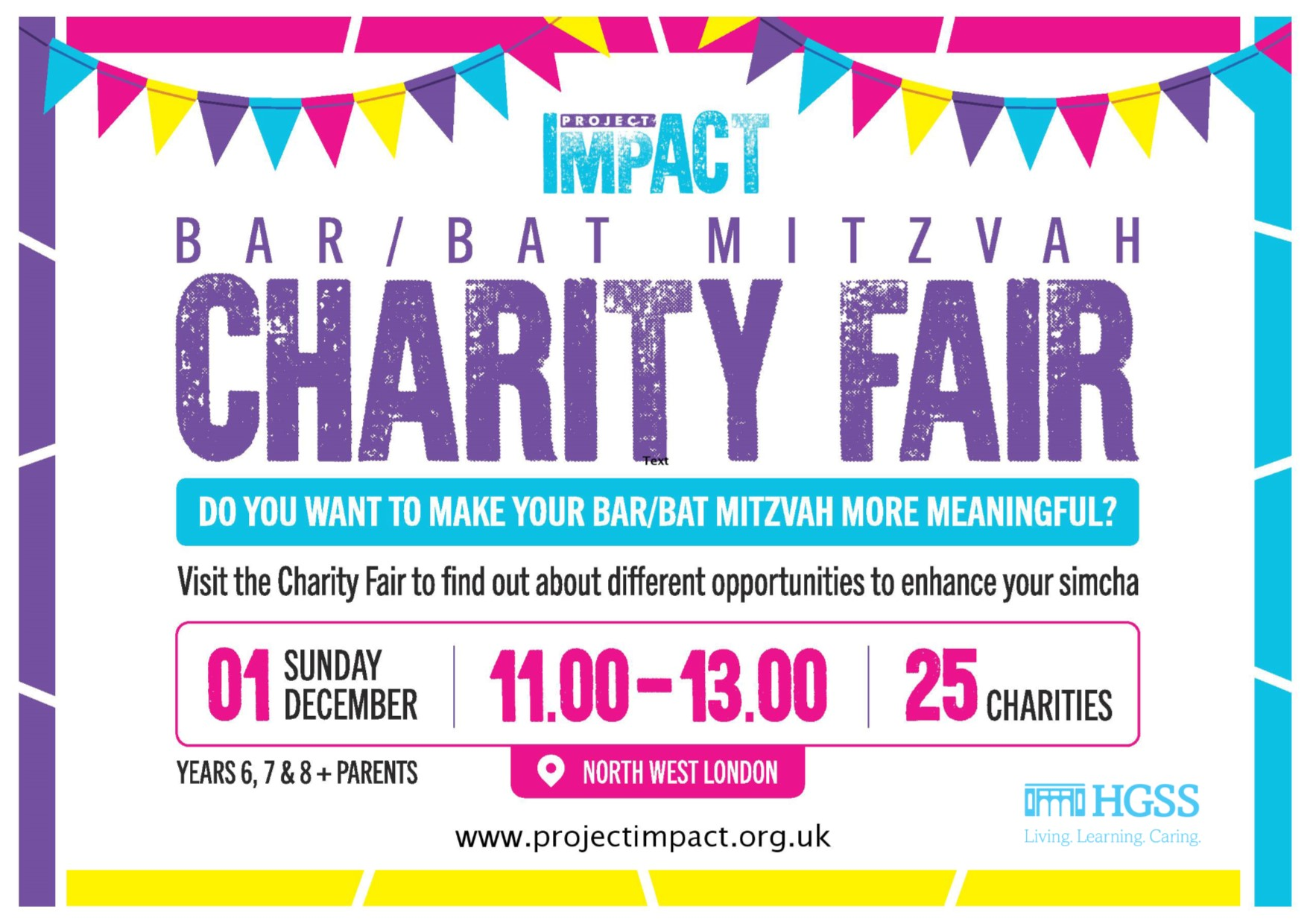 Bar/Bat Mitzvah Charity Fair @ Max Weinbaum Hall | England | United Kingdom