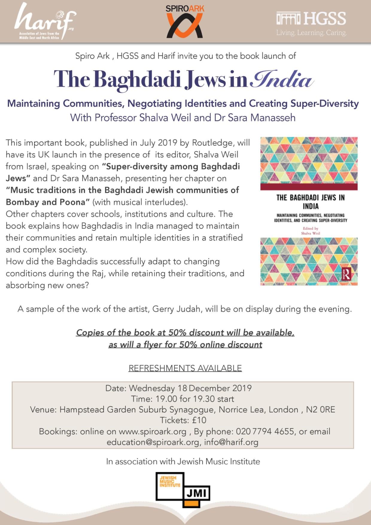 Spiro Ark - The Baghdadi Jews in India @ The Landy Gallery