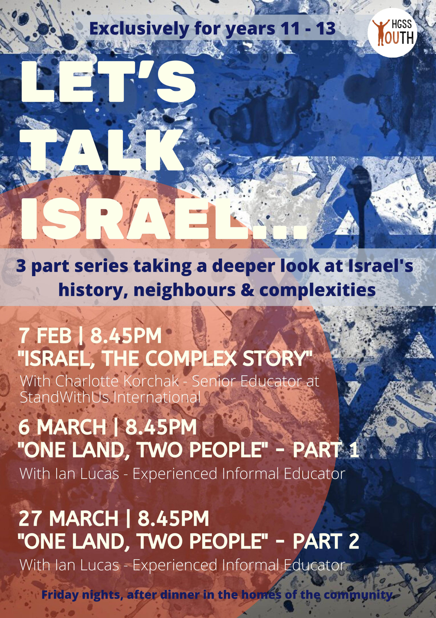 Let's Talk Israel... @ TBC