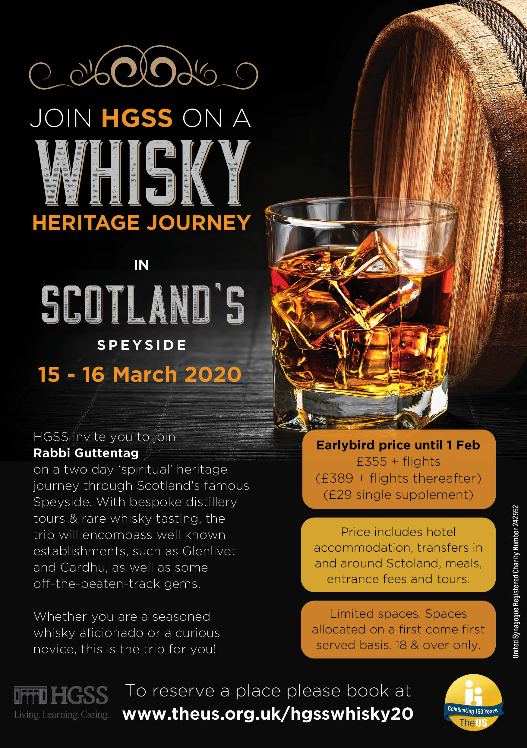 HGSS Whisky Tasting Trip - Postponed @ Scotland