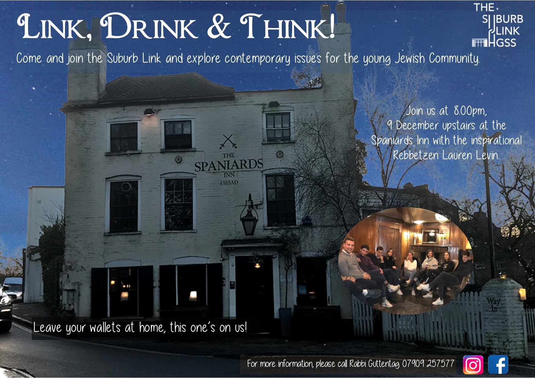 Link, Drink & Think @ HGSS