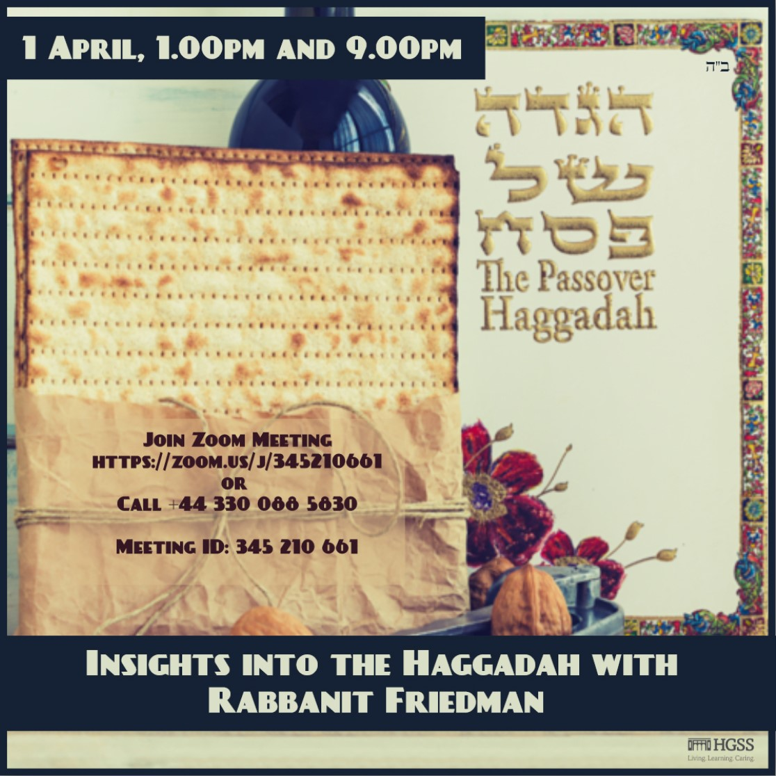 Insights into the Haggadah @ Online