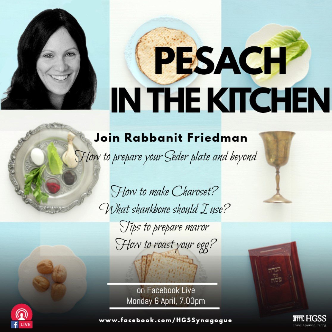 Pesach in the Kitchen @ Online
