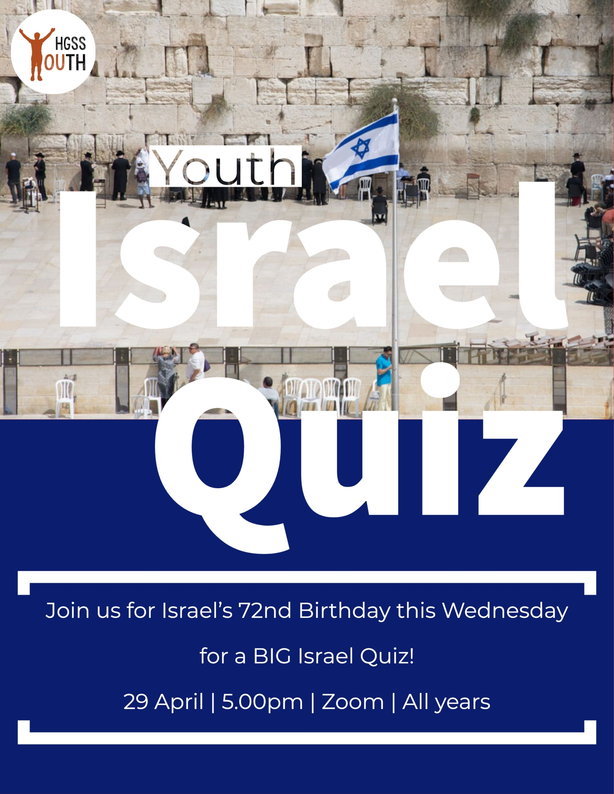 Youth Quiz (contact Youth Directors for password) @ Online