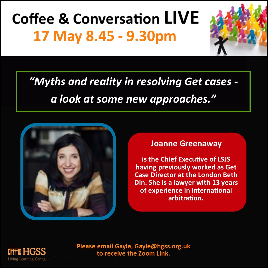 Coffee & Conversation LIVE @ HGSS