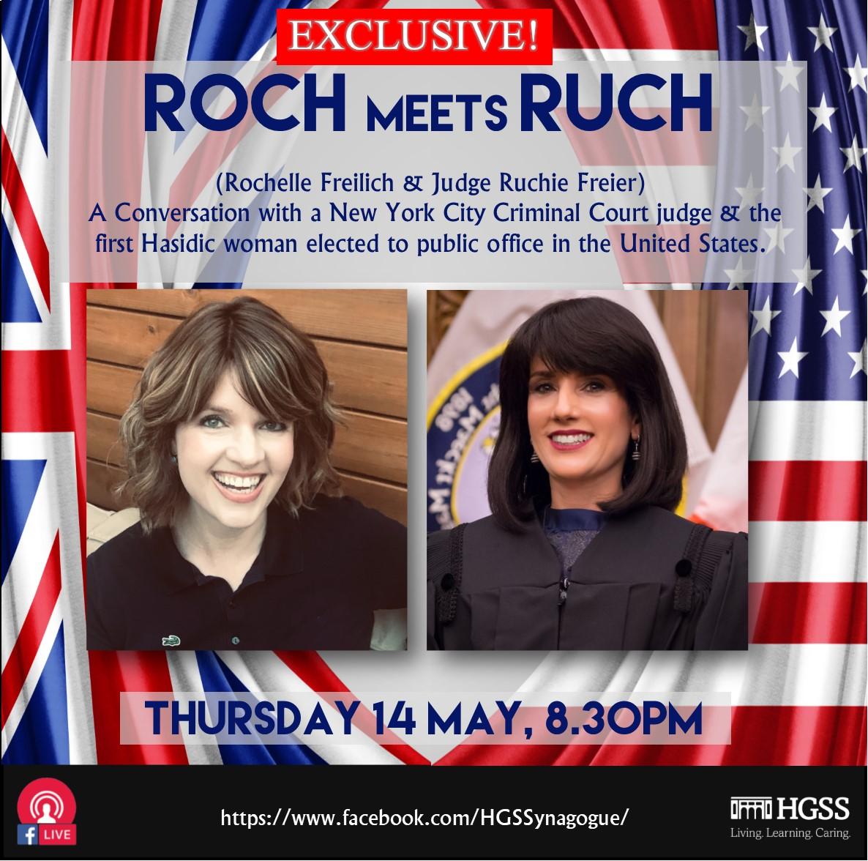 Roch meets Ruch @ Online