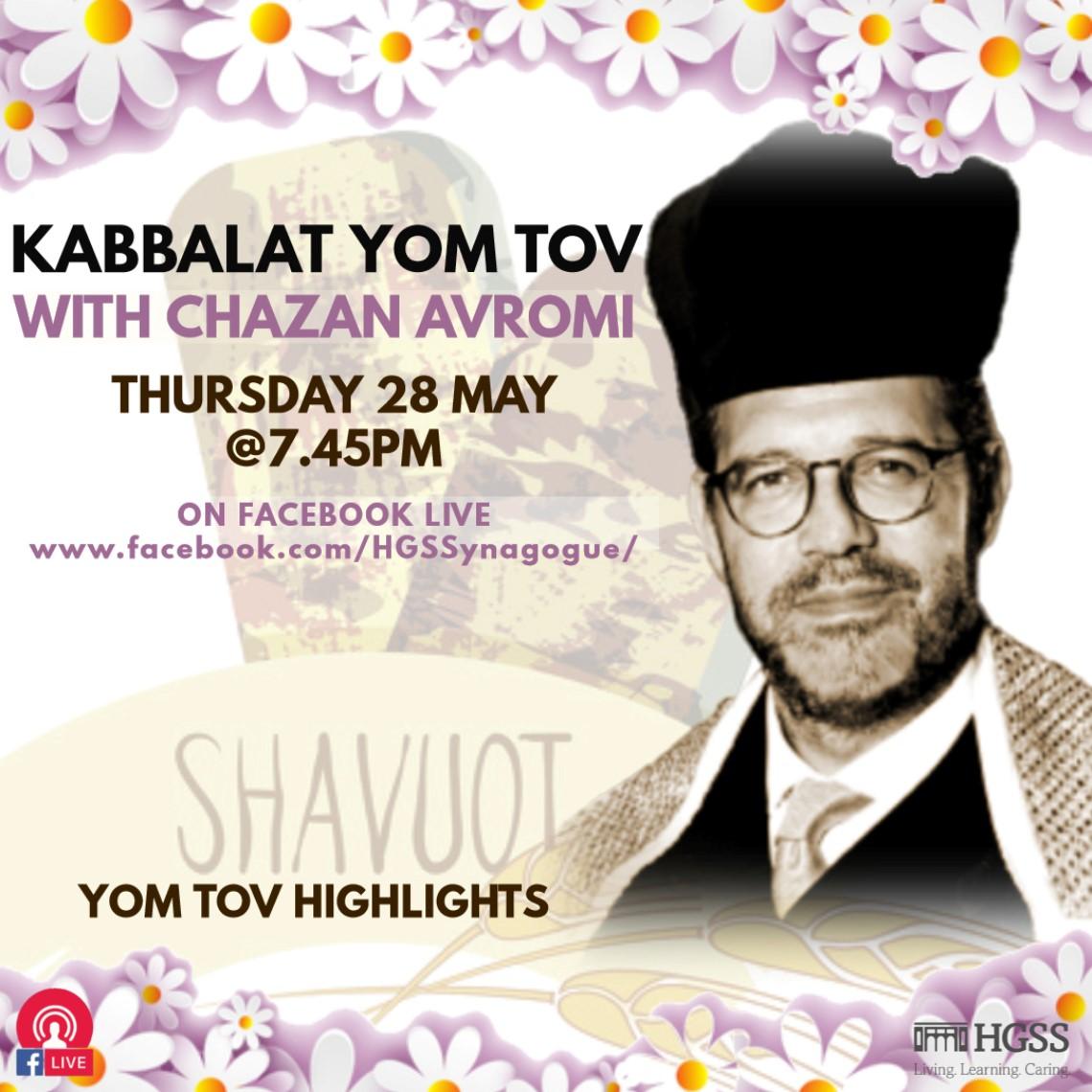 Kabbalat Yom Tov @ Online