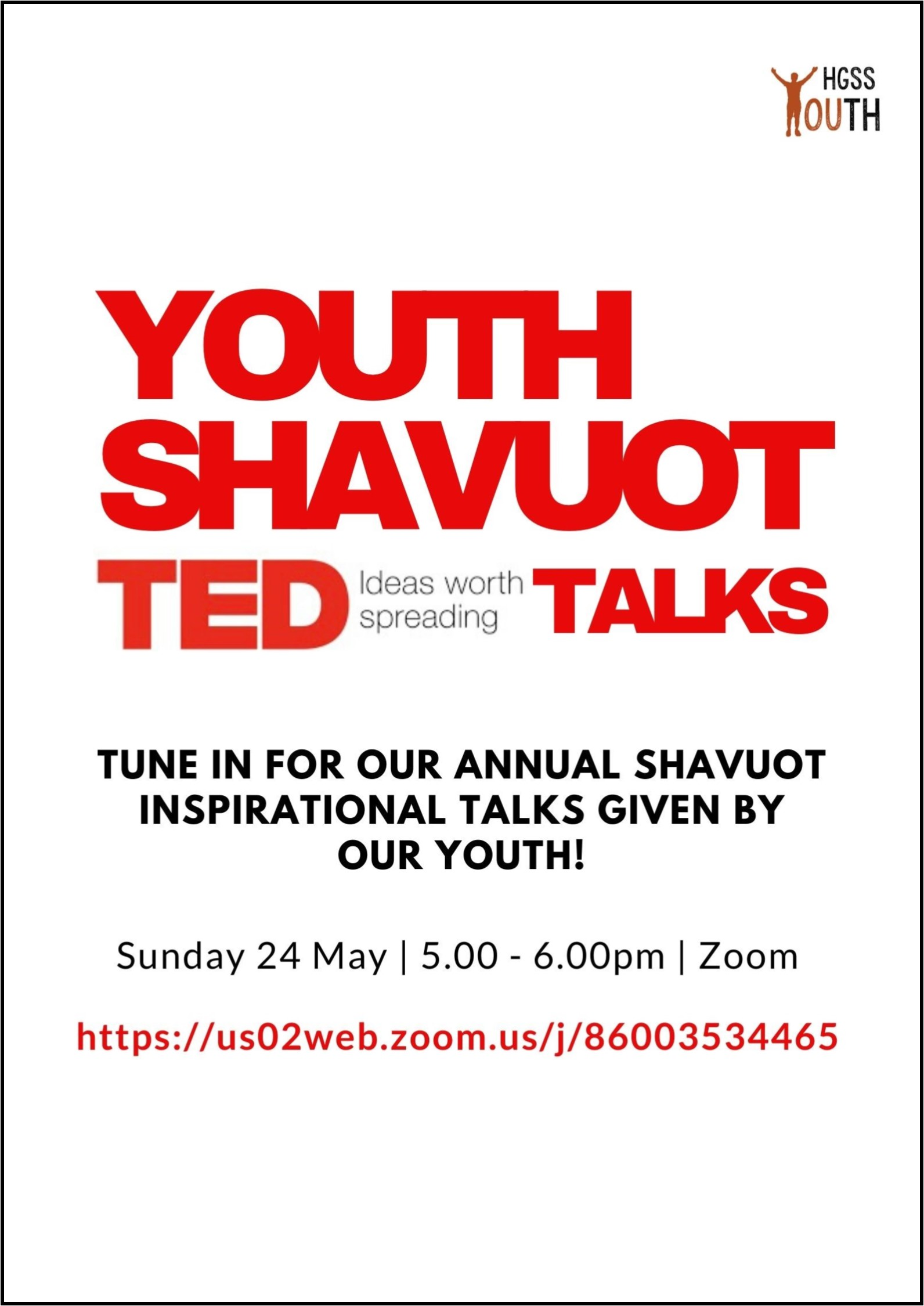 Youth Shavuot @ Online