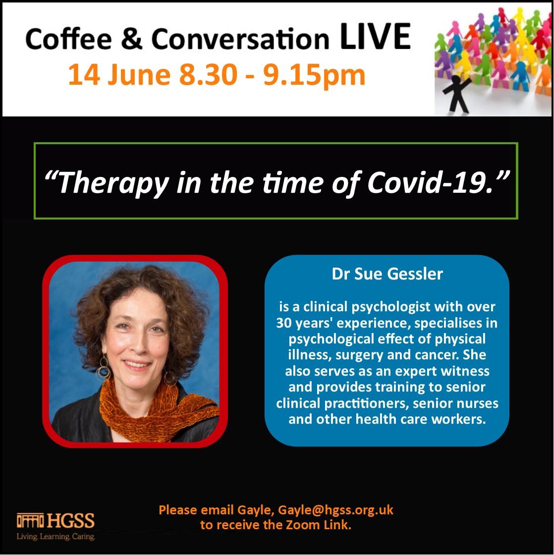 Coffee & Conversation LIVE @ HGSS