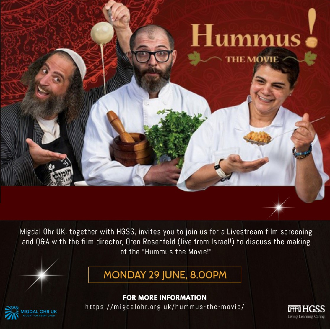 Hummus the Movie! @ Online