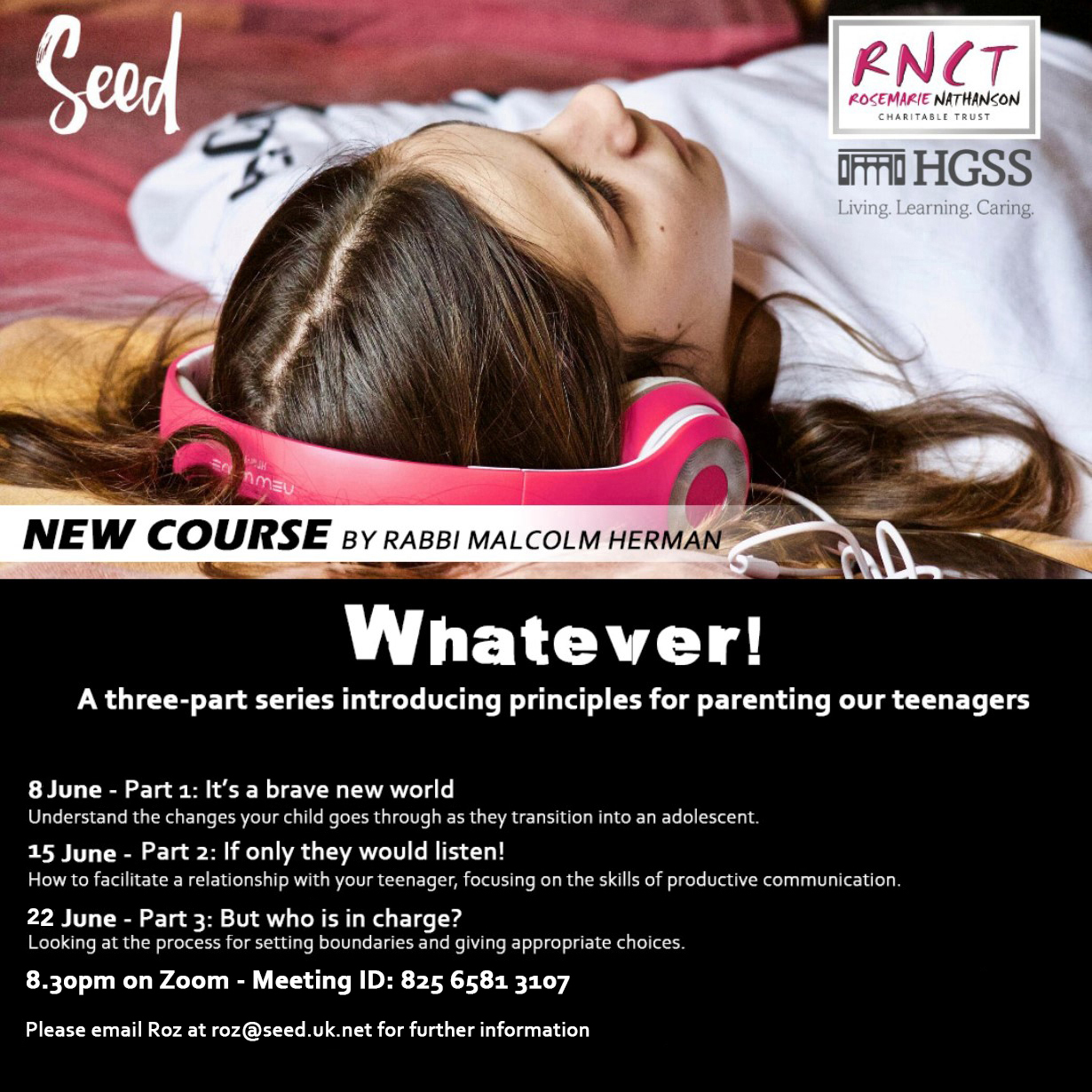 Whatever - Parenting course @ TBC