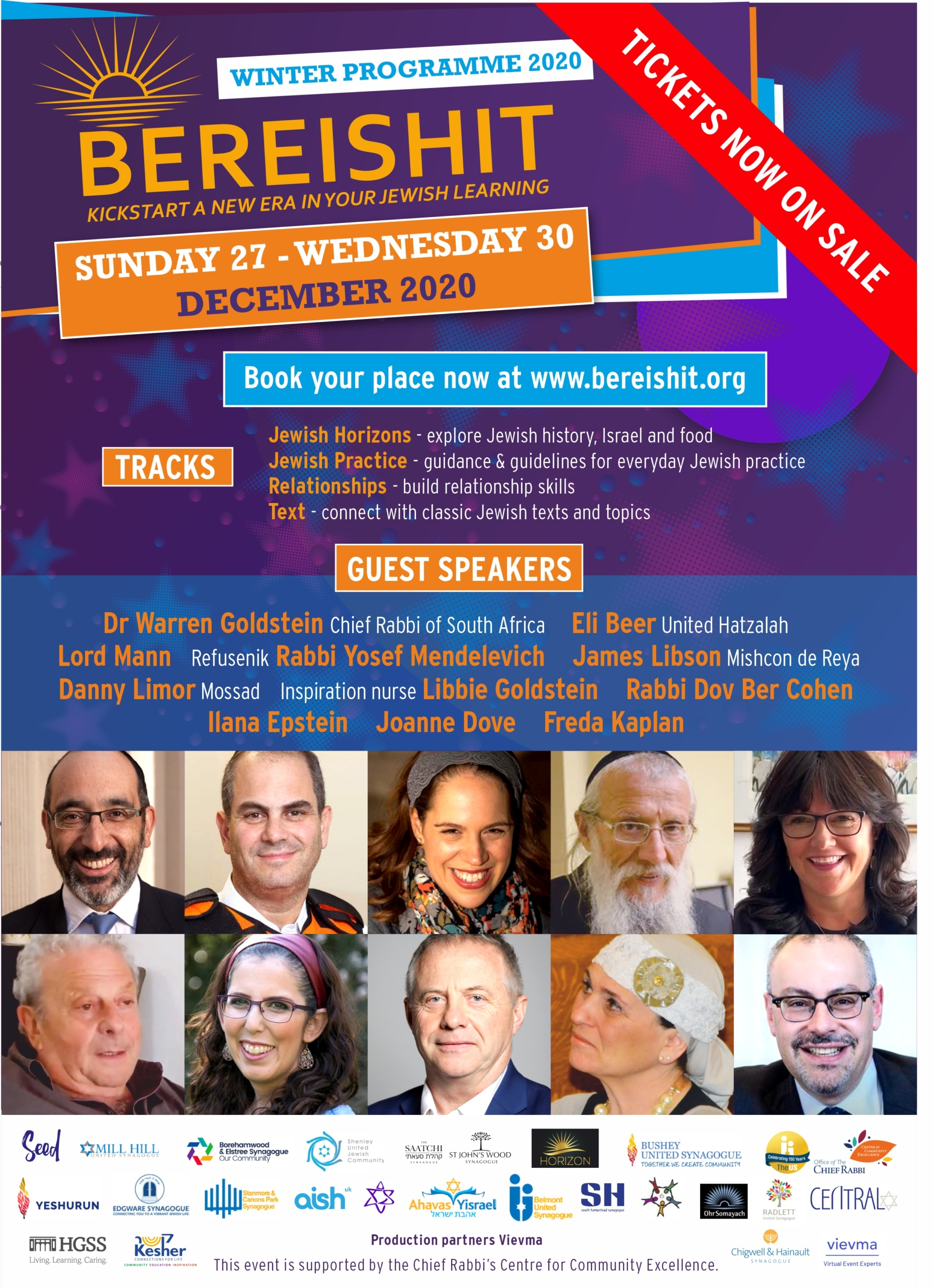 Bereishit Jewish Learning @ Online