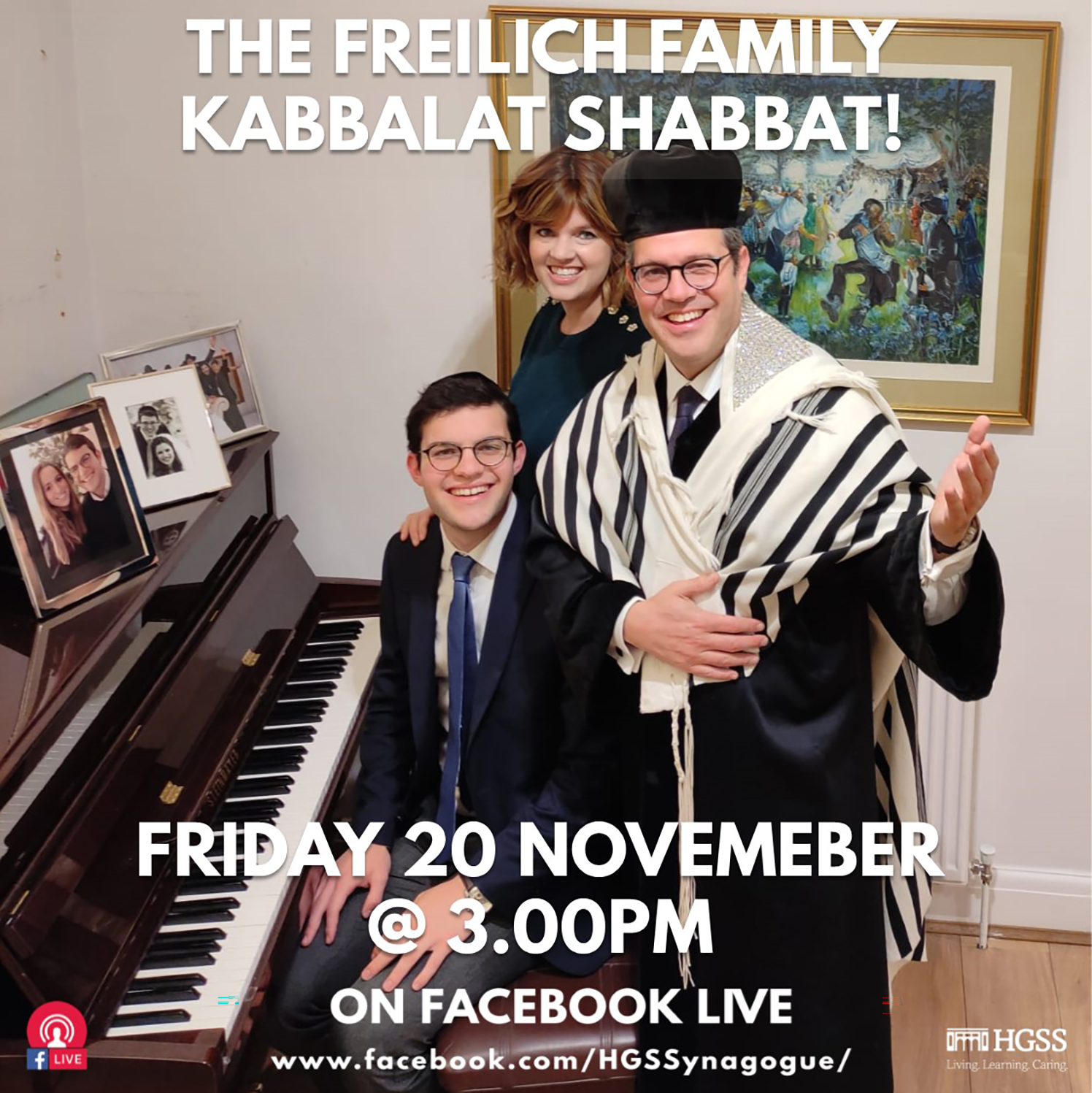 Friday Night Kabbalat Shabbat @ Online