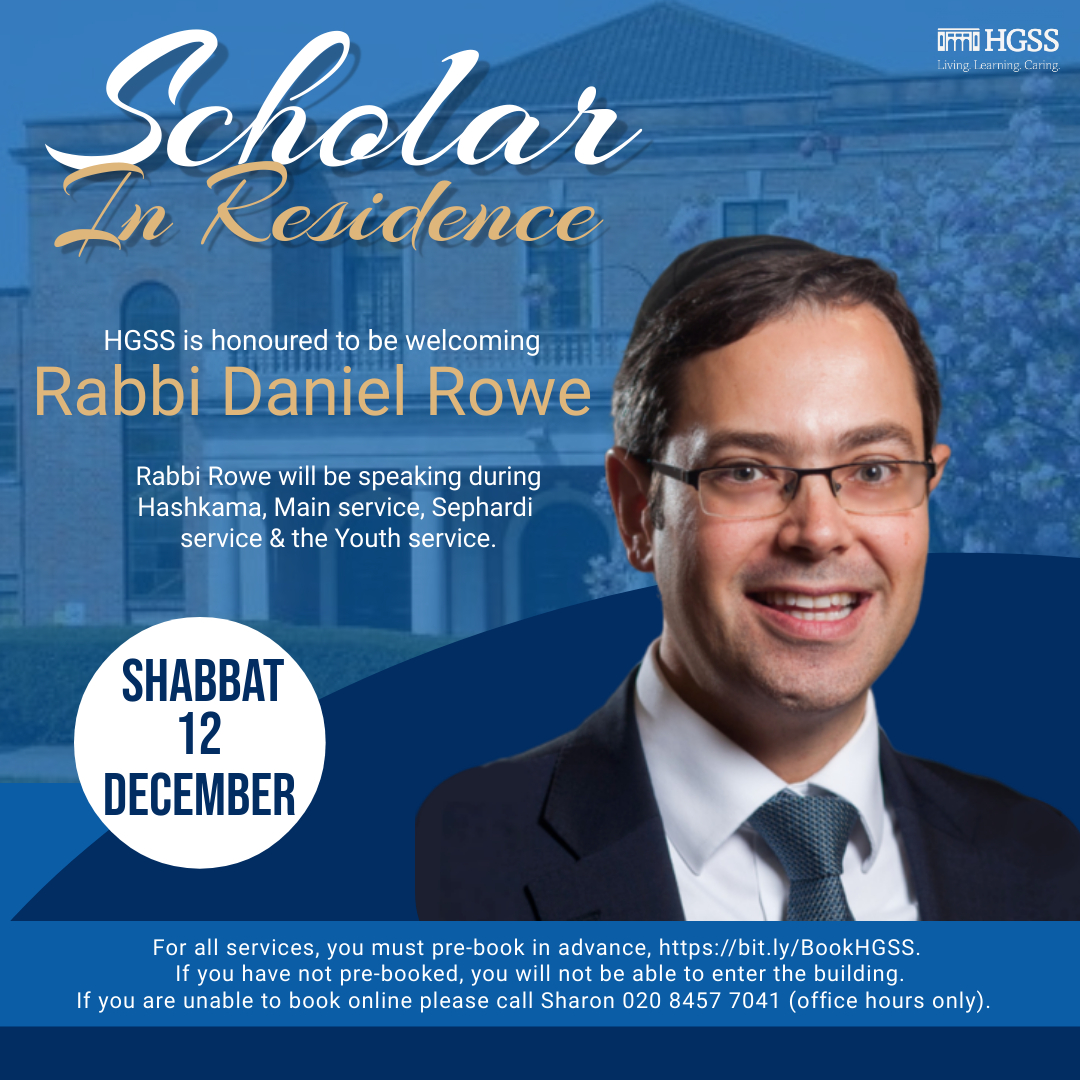 Scholar in Residence @ HGSS