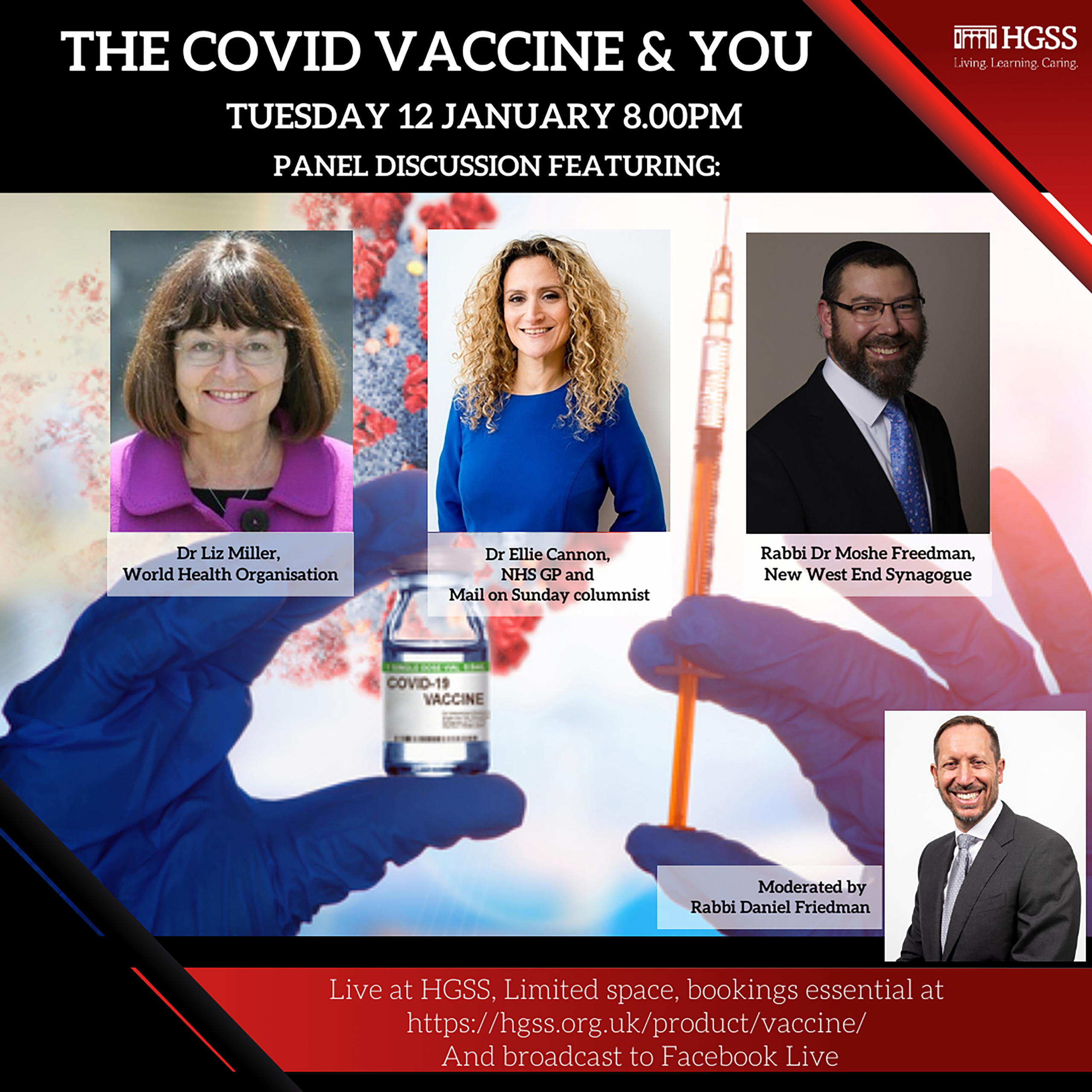 The Covid Vaccine & You @ In Shul
