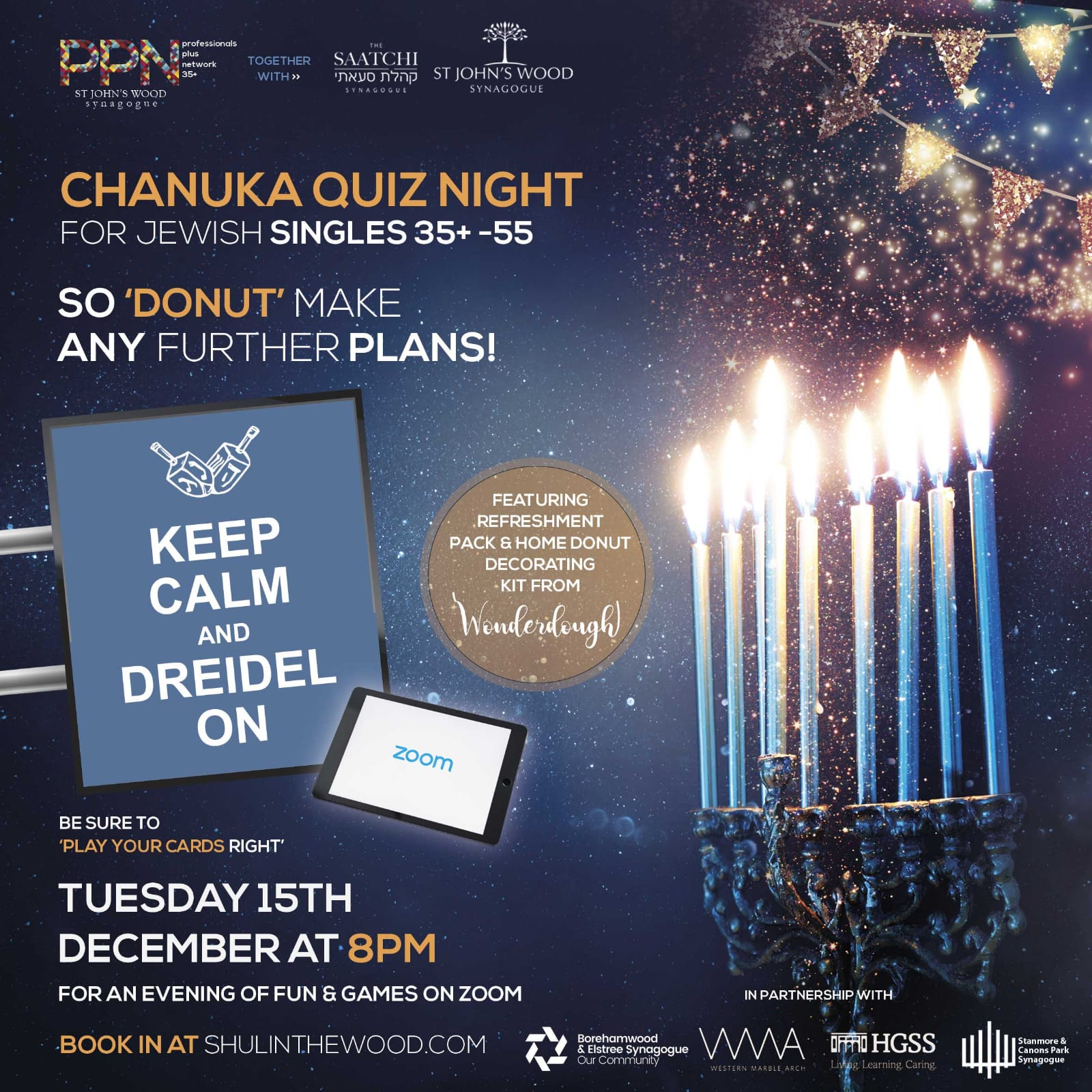 Chanukah Quiz Night @ Online