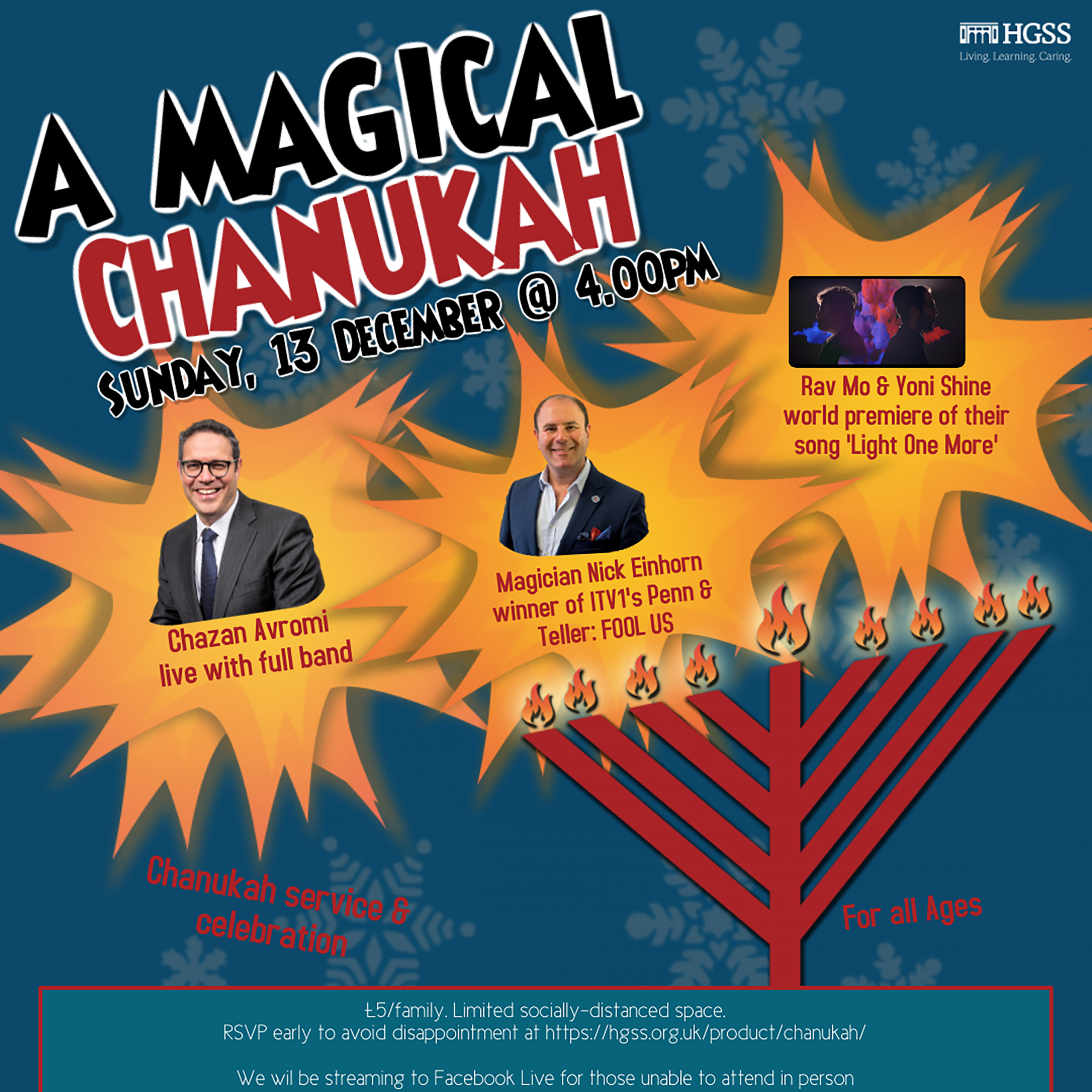 A Magical Chanukah @ Max Weinbaum Hall