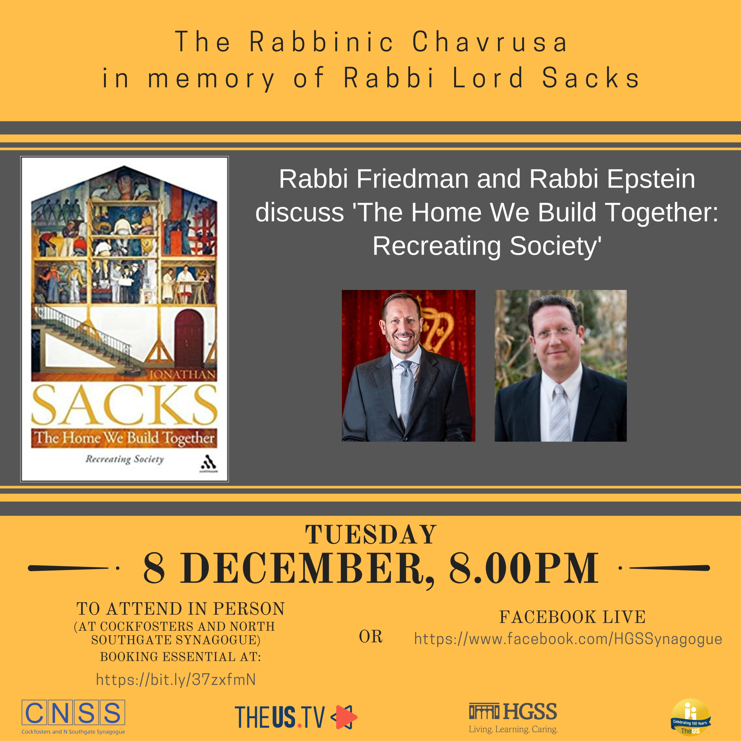 The Rabbinic Chavrusa @ Cockfosters and North Southgate Synagogue