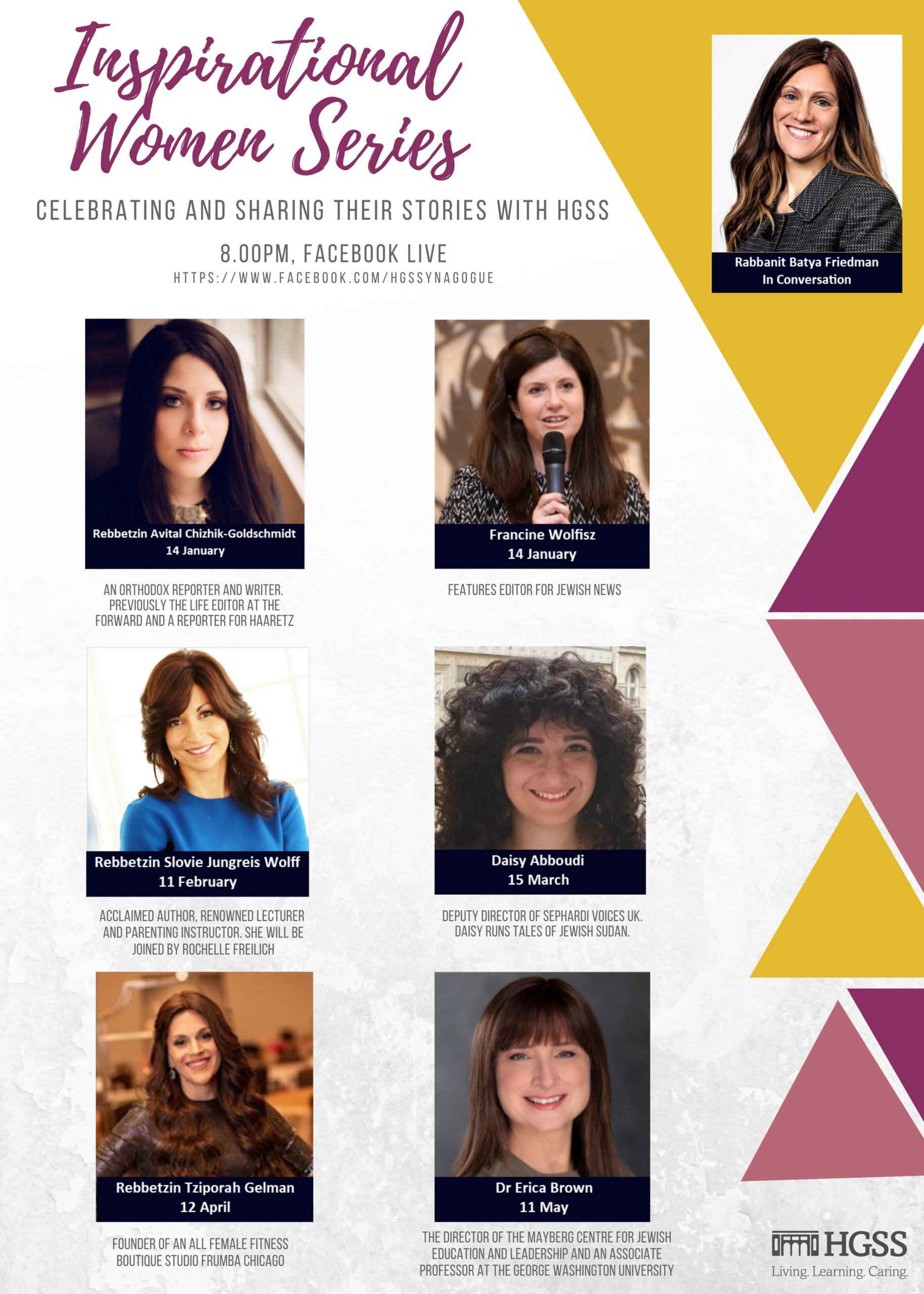 Inspirational Women Series @ Online