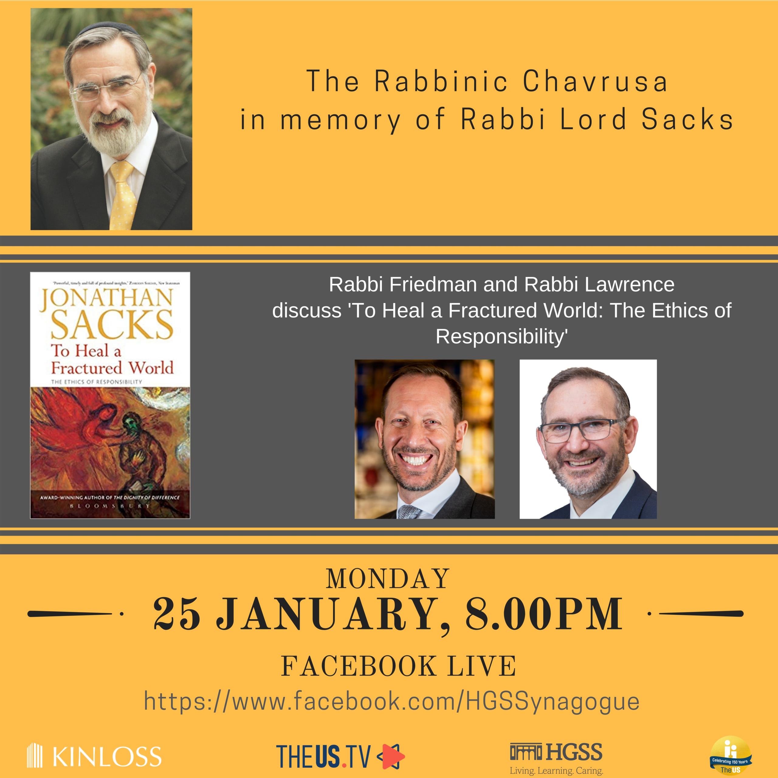 The Rabbinic Chavrusa @ Online