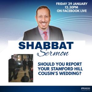 Shabbat Sermon @ Online