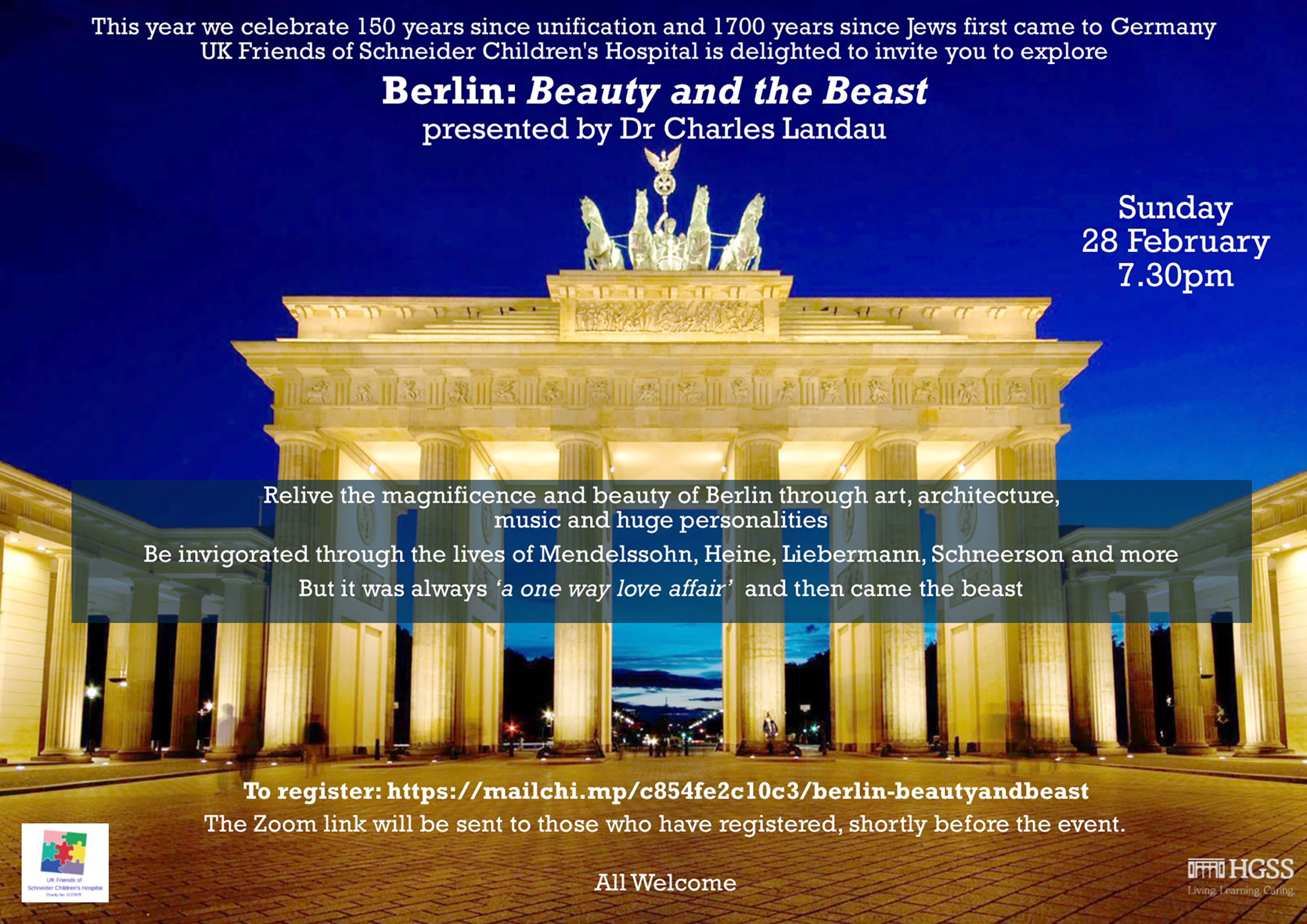 Berlin: Beauty and The Beast @ Zoom